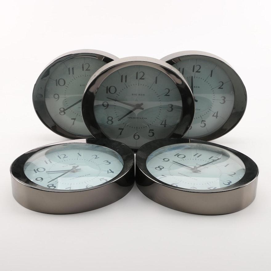 Westclox Big Ben Quartz Wall Clocks Ebth