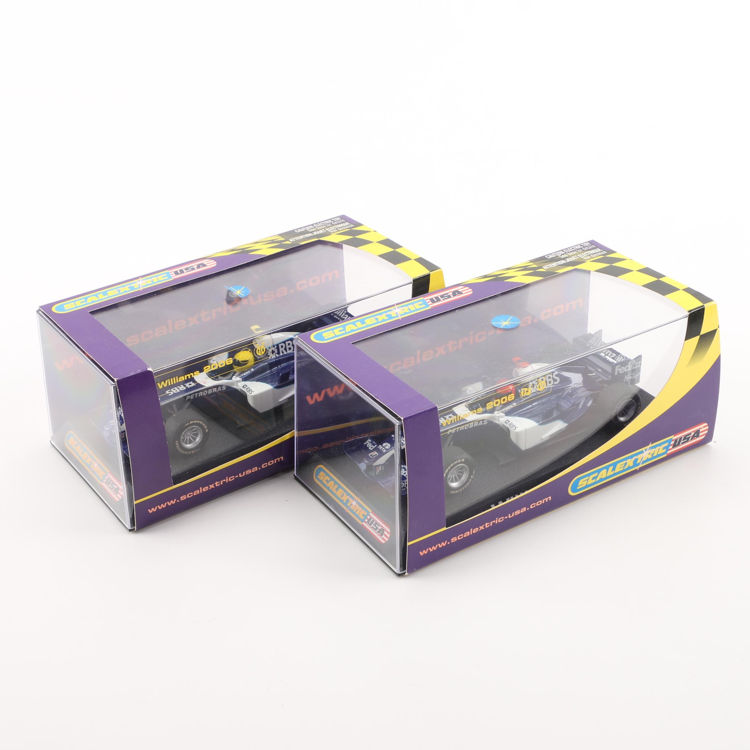 Scalextric Williams 2006 Slot Cars