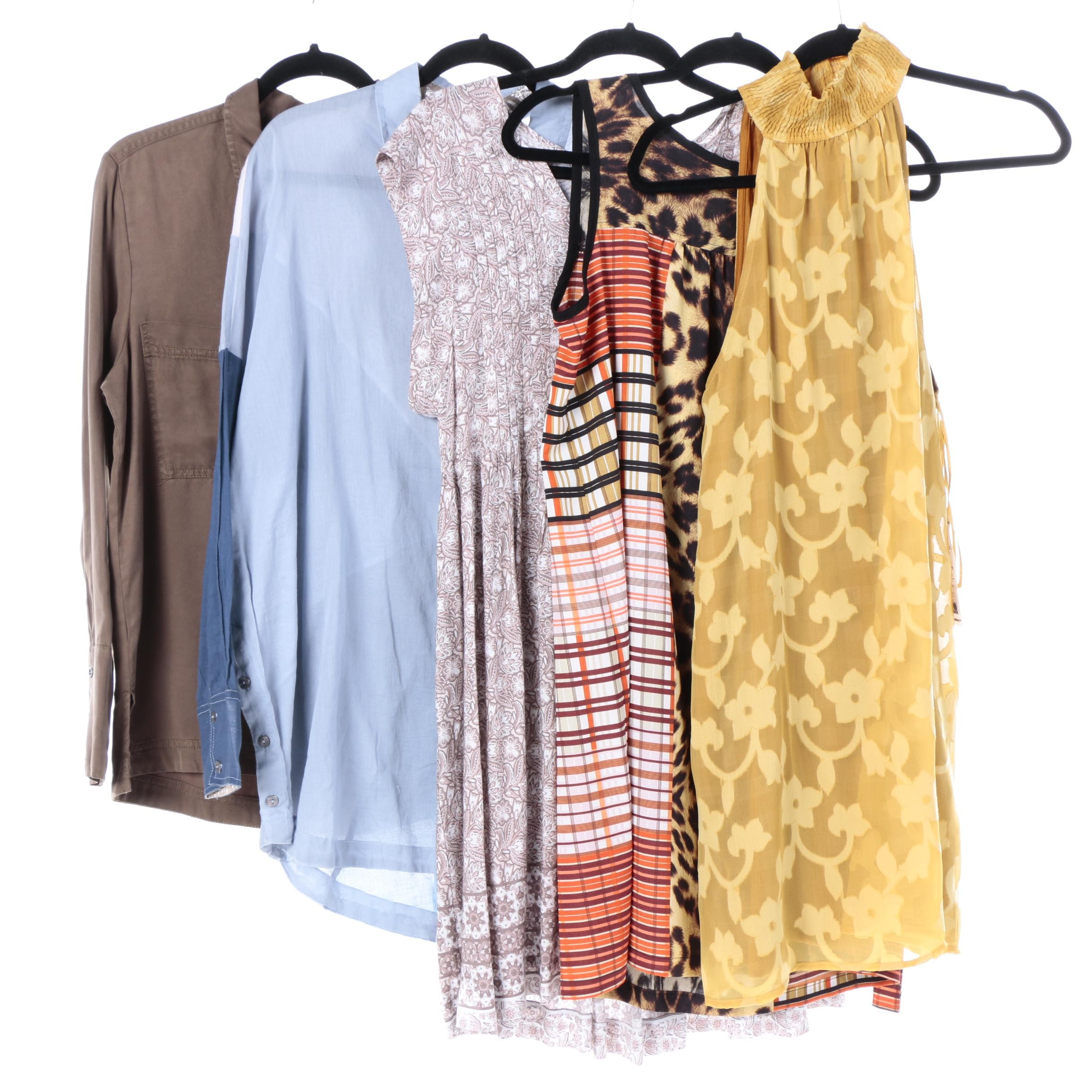 Women's Dresses and Shirts Including Free People and Willow & Clay