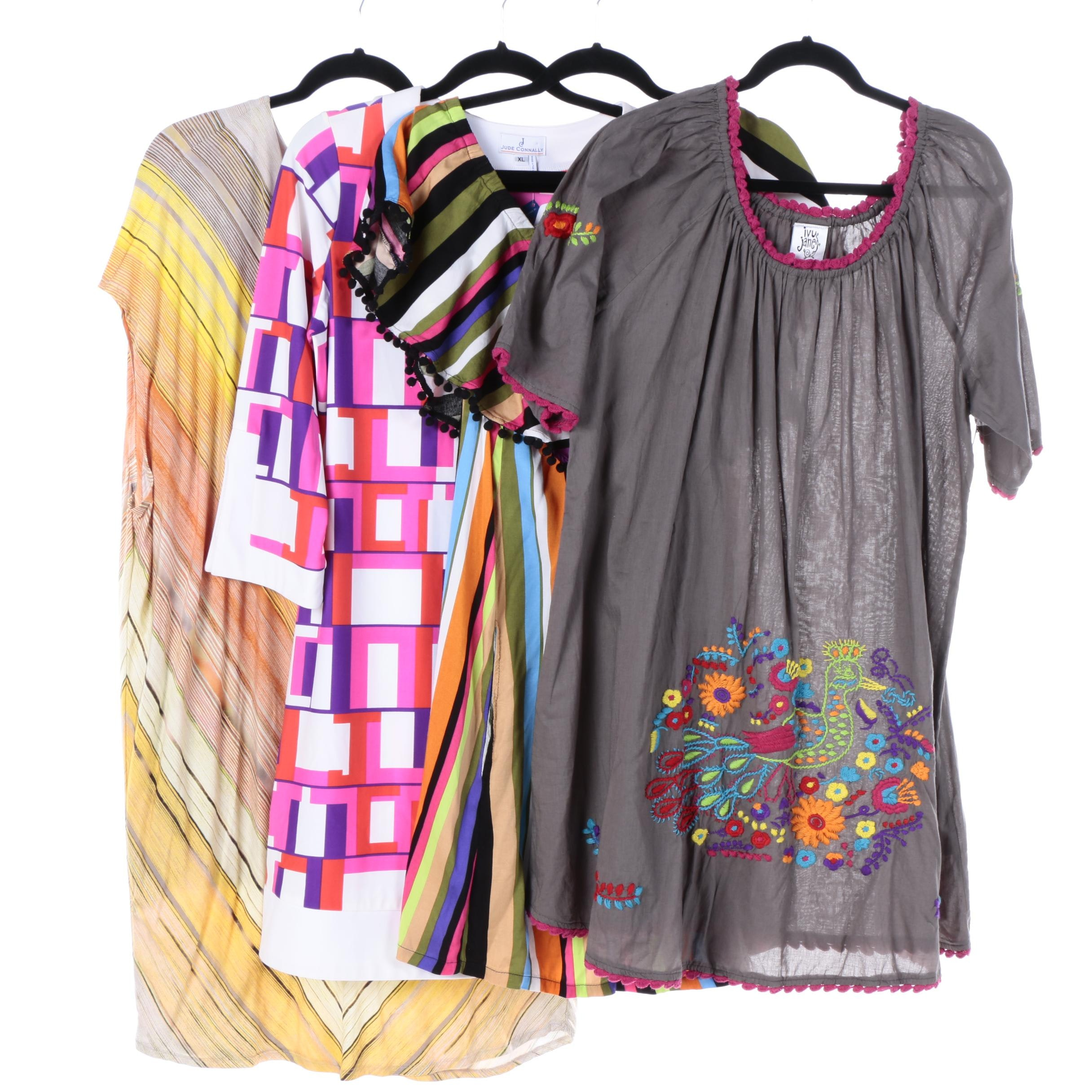 Women's Patterned Dresses, Including Uncle Frank