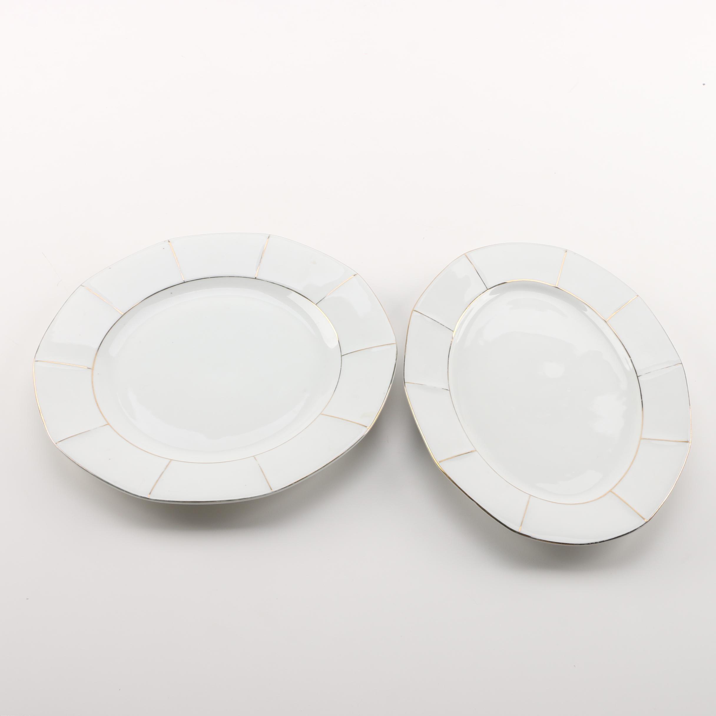 Victoria Porcelain Serving Platters