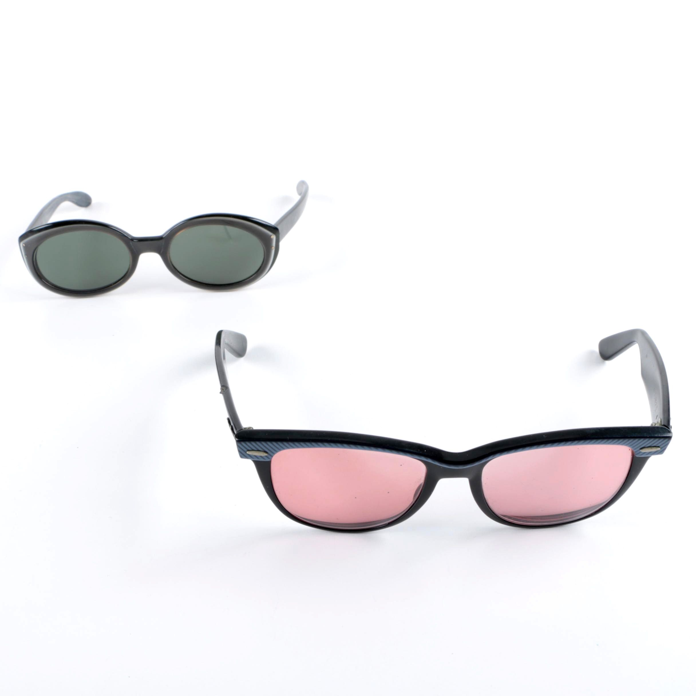 Vintage Ray-Ban Bewitching and Wayfarer II Sunglasses