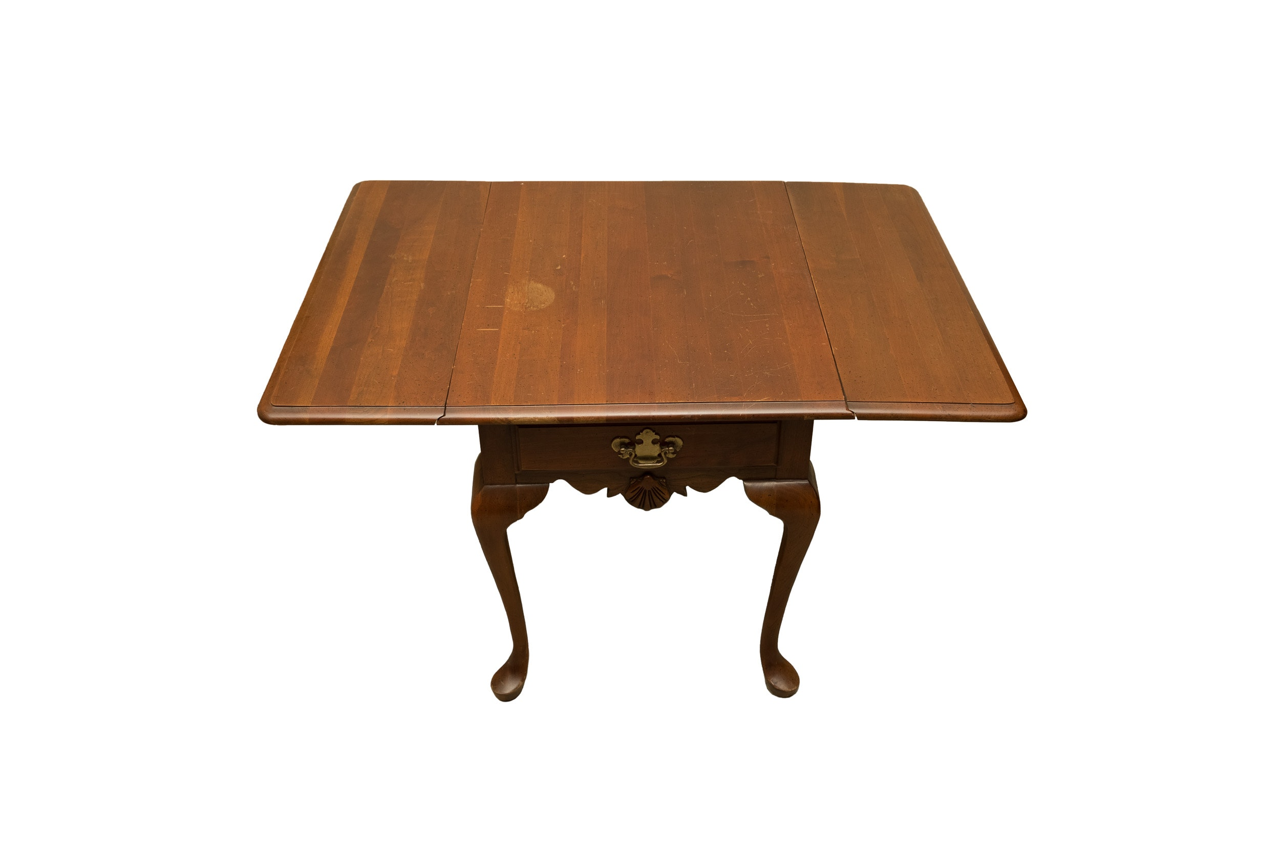 Colonial Style Drop Leaf Side Table