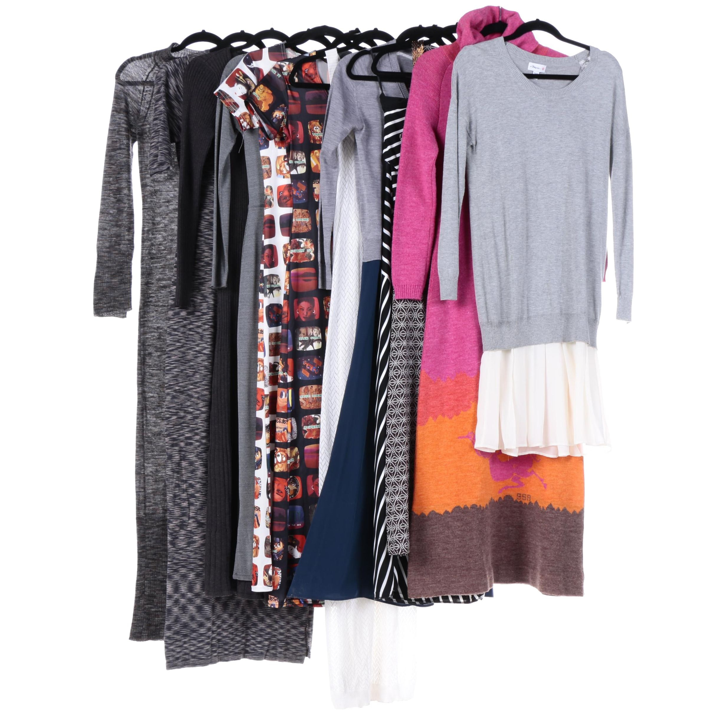 Women's Knit Dresses Including Tory Burch, Calvin Klein, LAUREN Ralph Lauren
