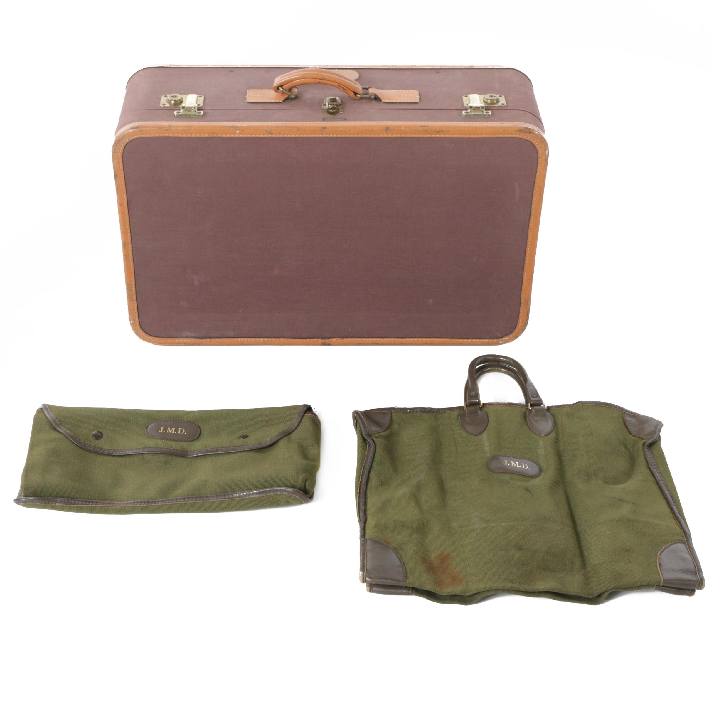 Vintage T. Anthony Ltd. Suitcase and Travel Accessory Bags