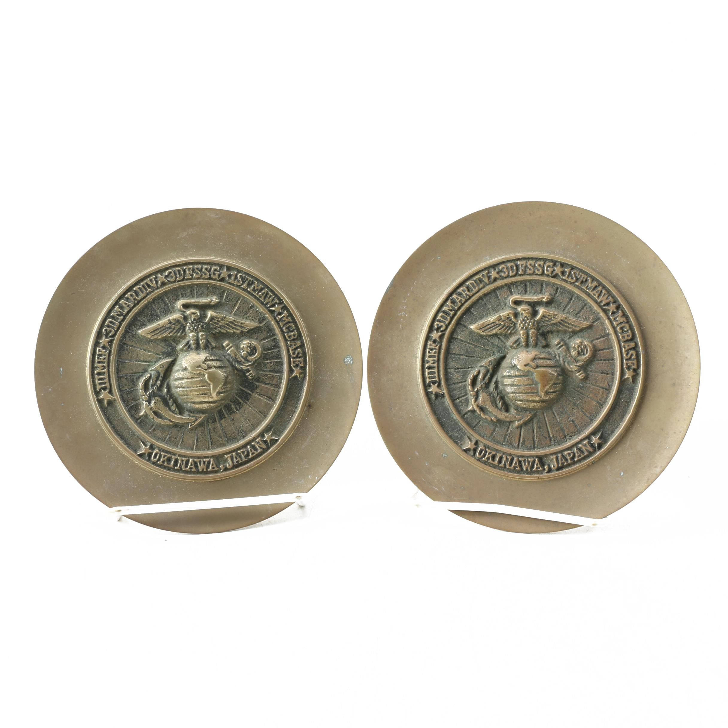 Pair of US Marine Corps 221st Birthday Chargers