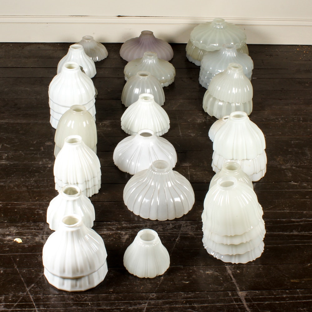 Milk Glass Shades