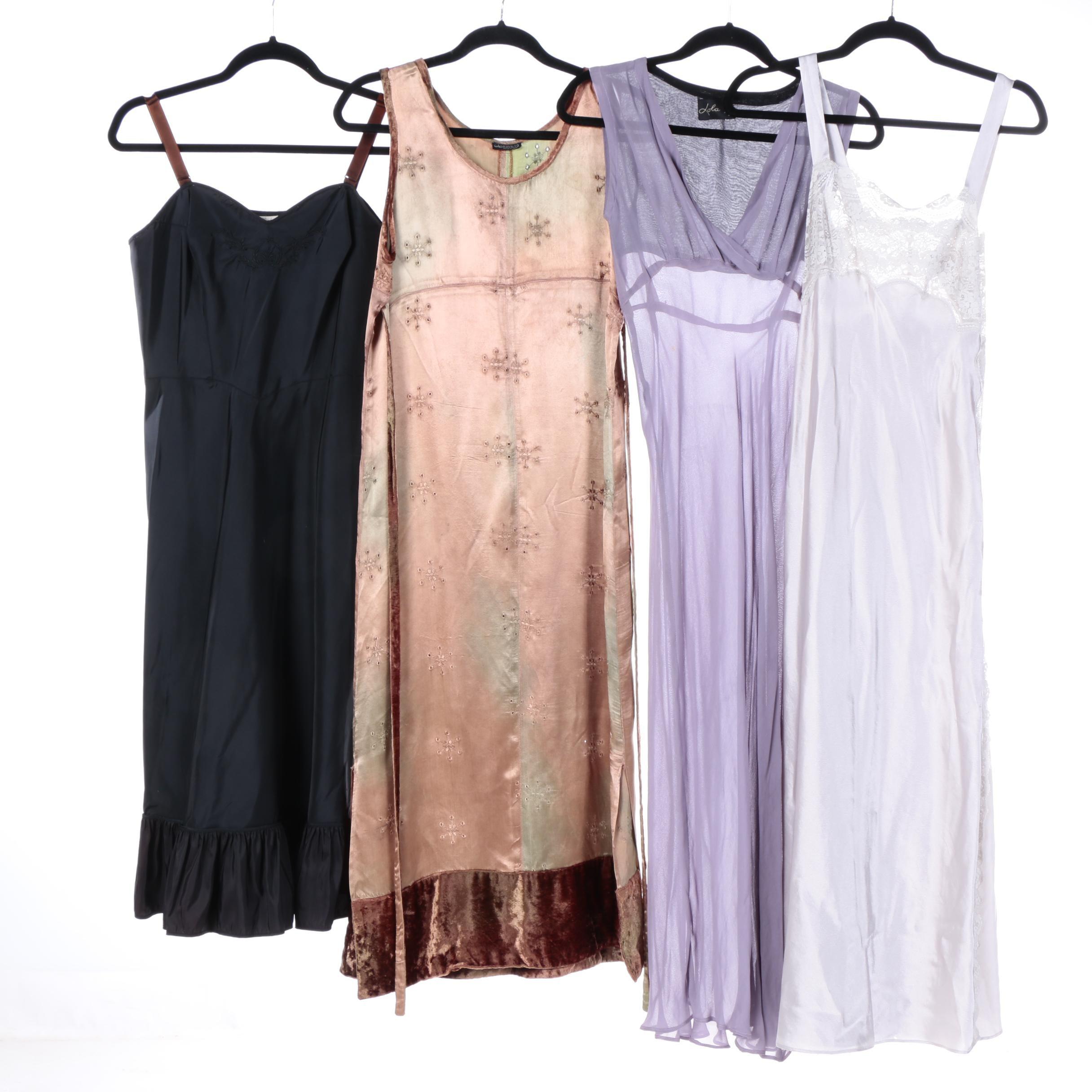 Vintage Slip Dresses Including Valentino Intimates