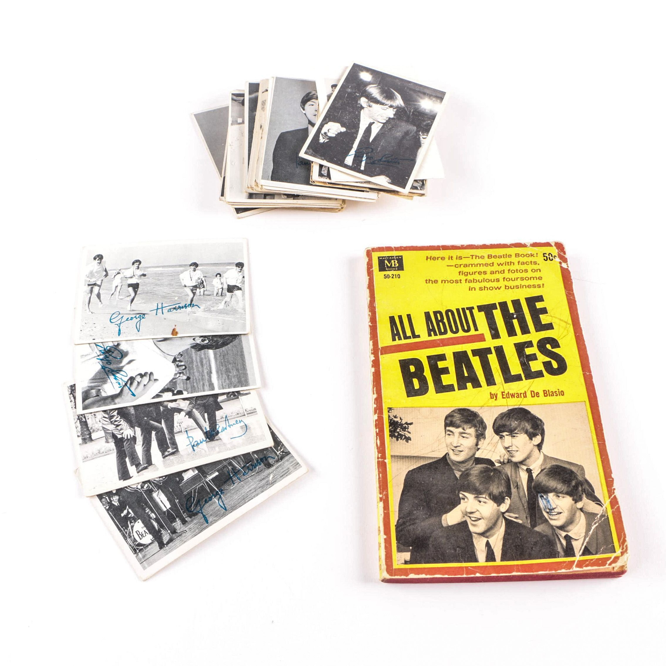 "Topps Beatles Trading Cards with ""All About the Beatles"" by Edward De Blasio"