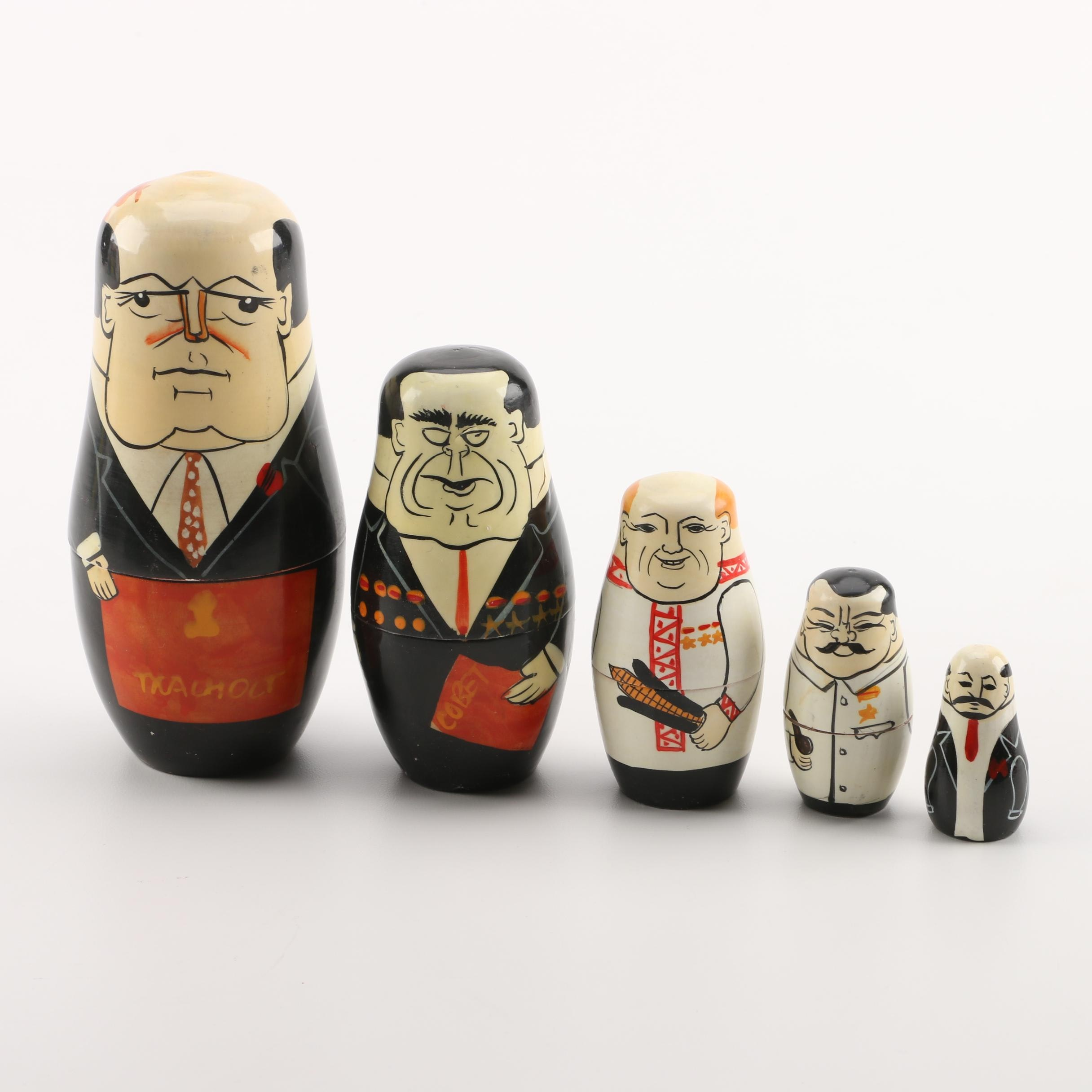 "Authentic Models ""Russian Politician"" Matryoshka"