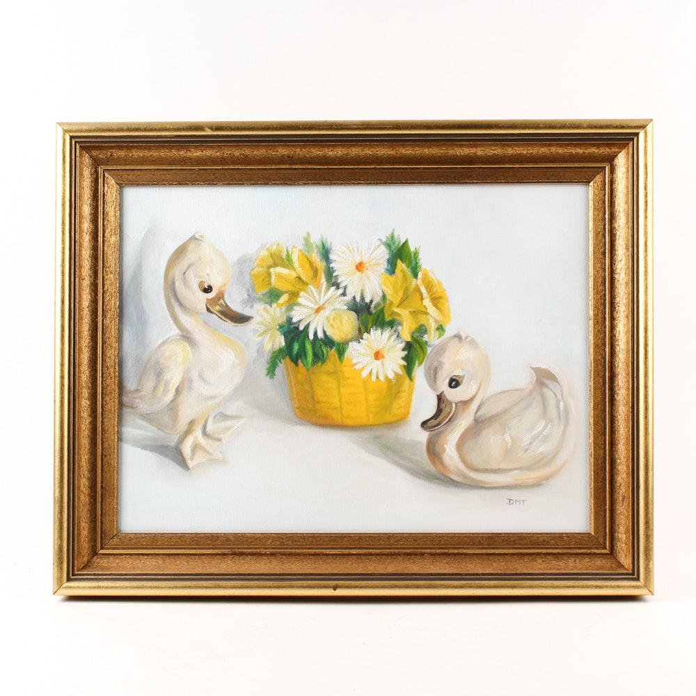 Doris Townsend Acrylic Painting