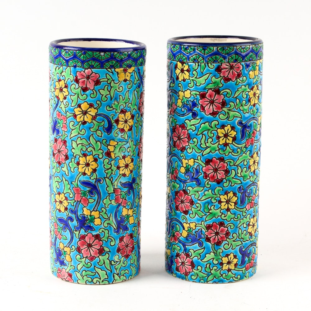 French Floral Vases