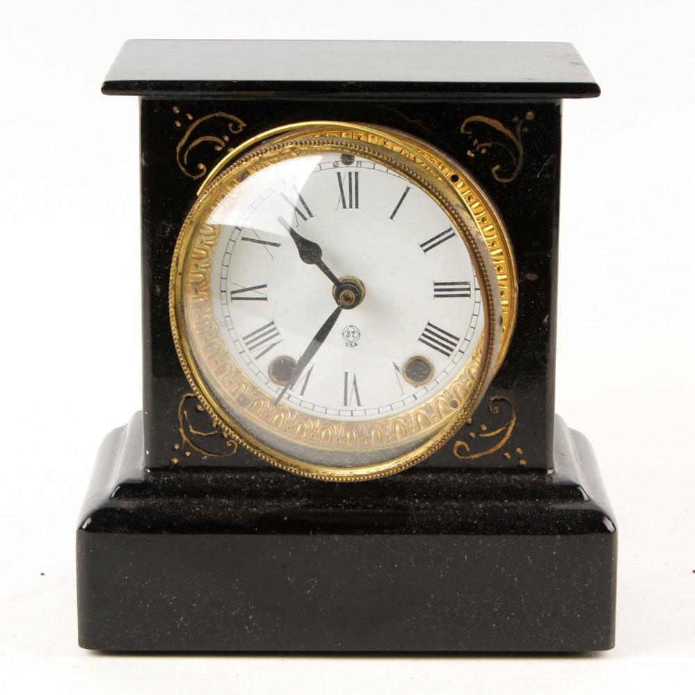 Converted Antique Quartz Mantel Clock