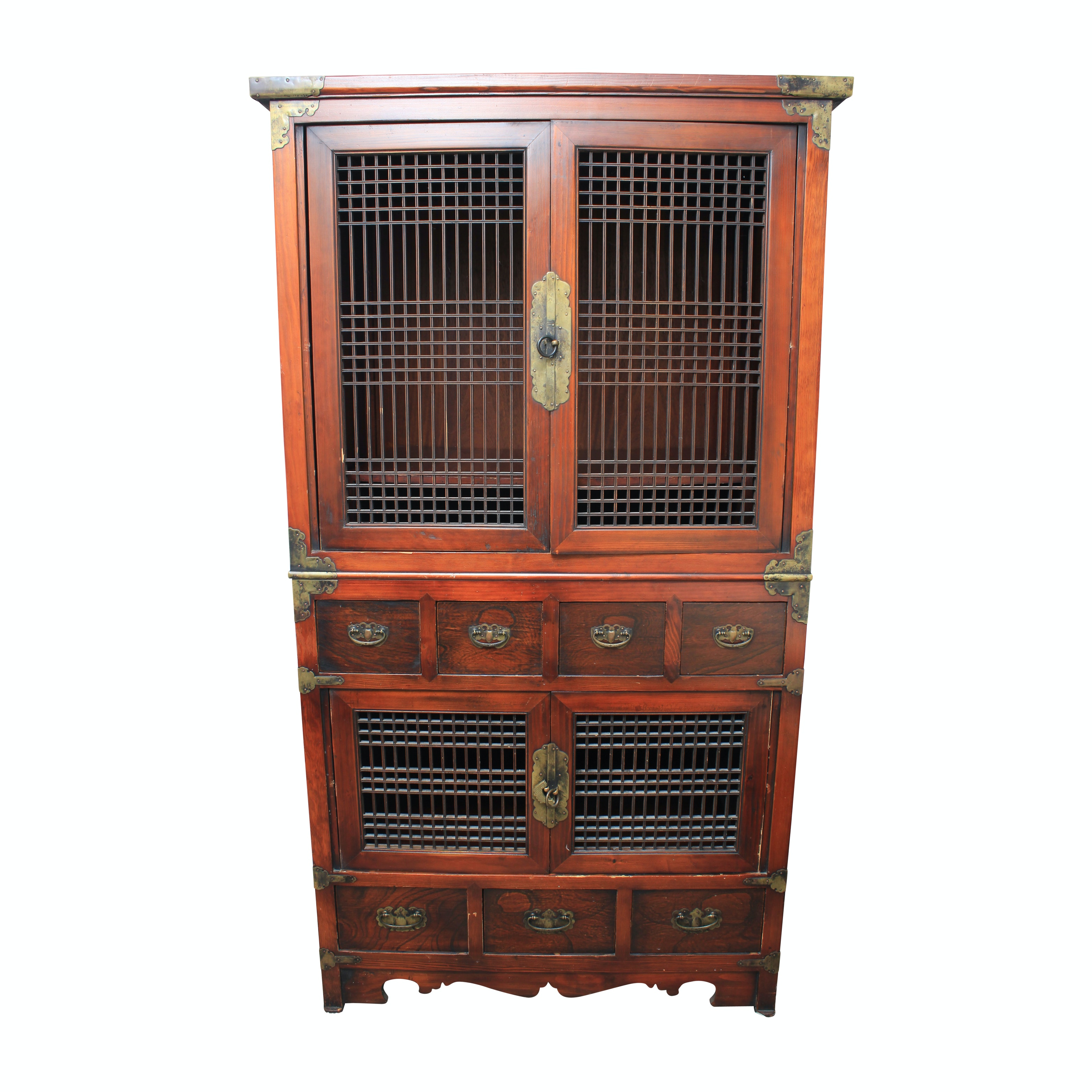 Asian Style Entertainment Cabinet