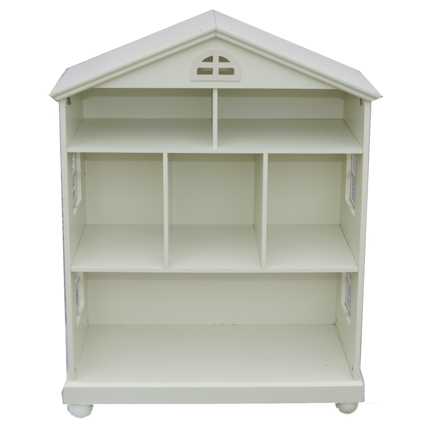 Painted Dollhouse Bookcase