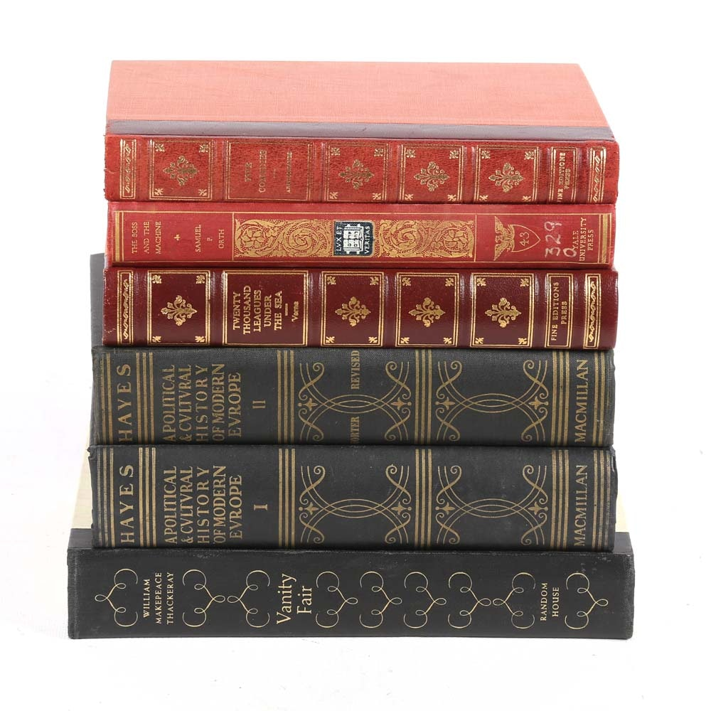 Vintage Hardcover Books and Literary Classics