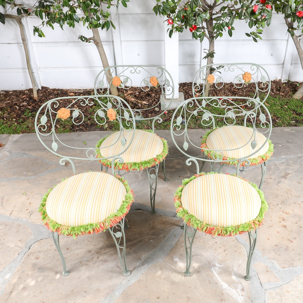 Wrought Metal Garden Chairs