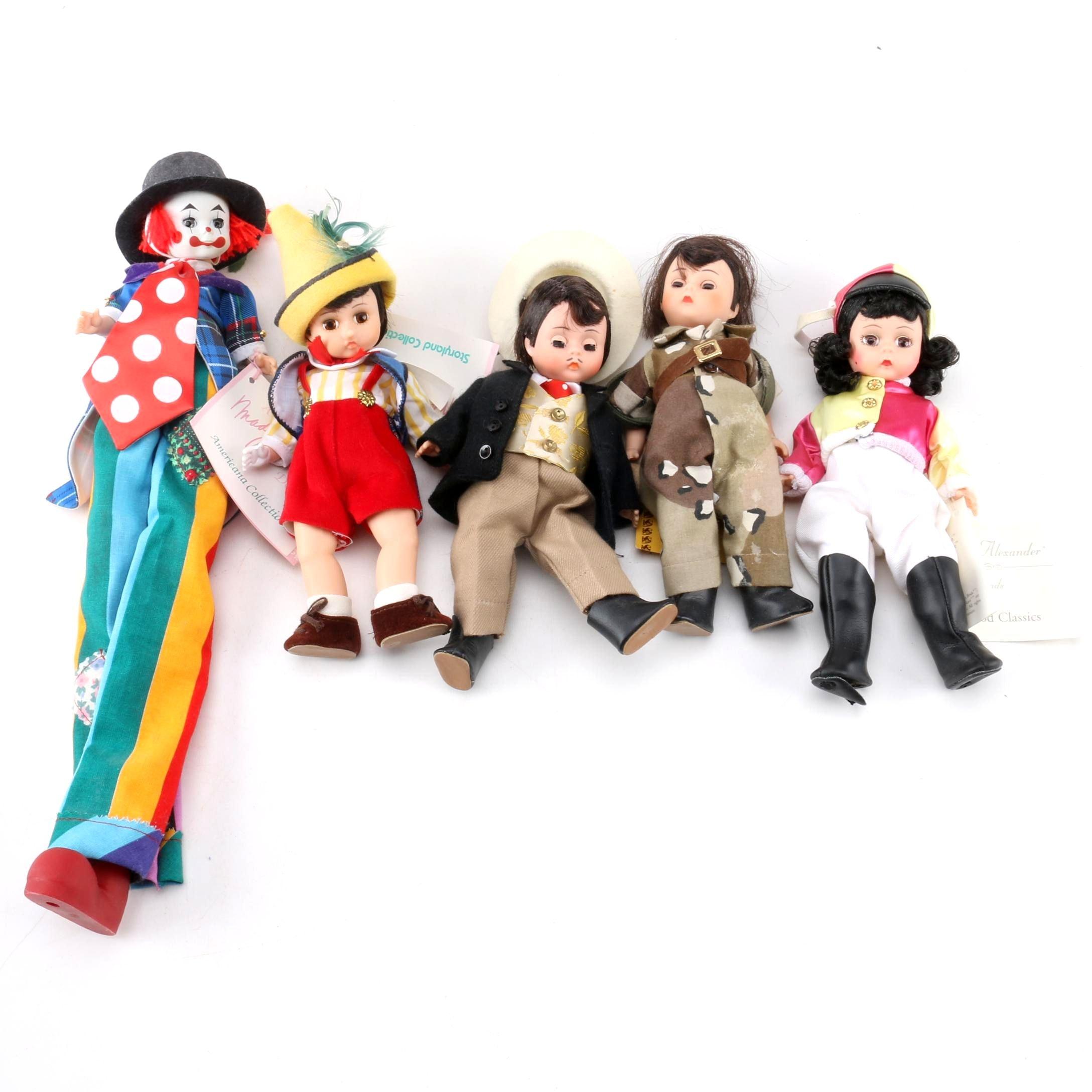 """Vintage Madame Alexander Dolls Featuring """"Stilts"""""""