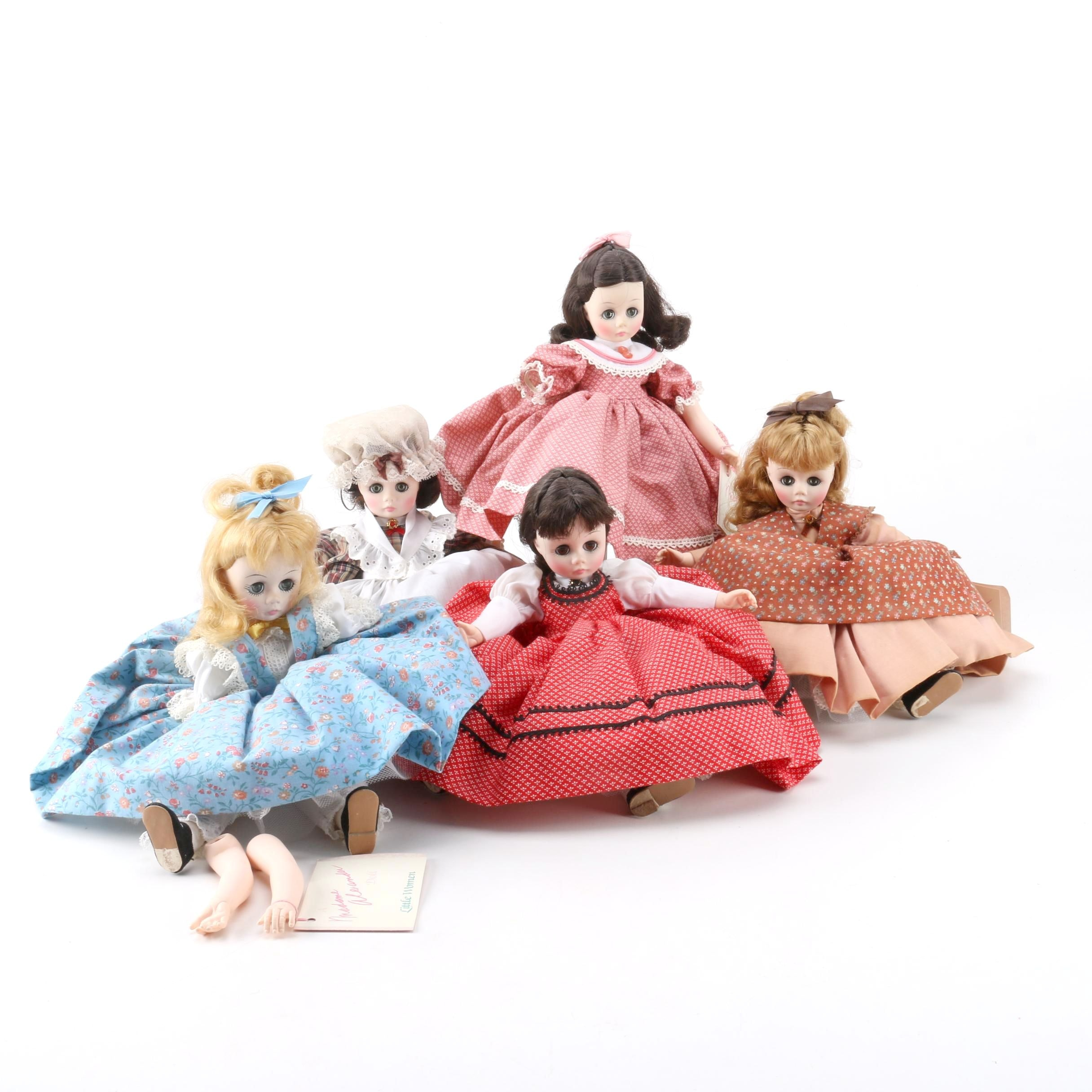 "1976 Madame Alexander ""Little Women"" Dolls"