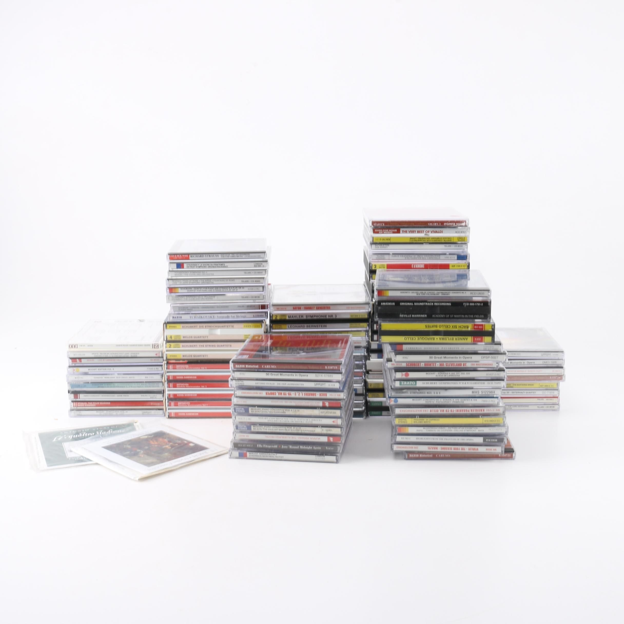 Yo-Yo Ma, Caruso, Ella Fitzgerald and Other Classical and Jazz CDs