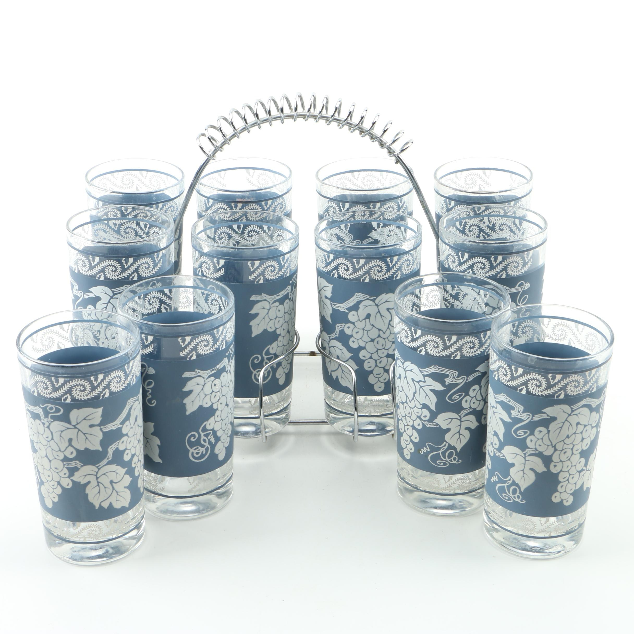 Hazel-Atlas Glasses with Stand