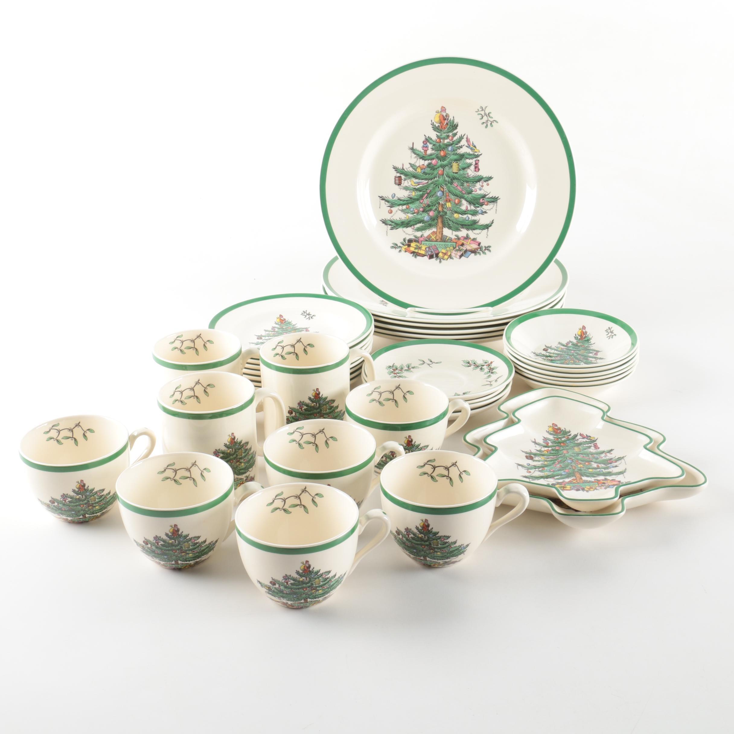 Spode  Christmas Tree  Holiday Dinnerware ...  sc 1 st  EBTH.com & Spode