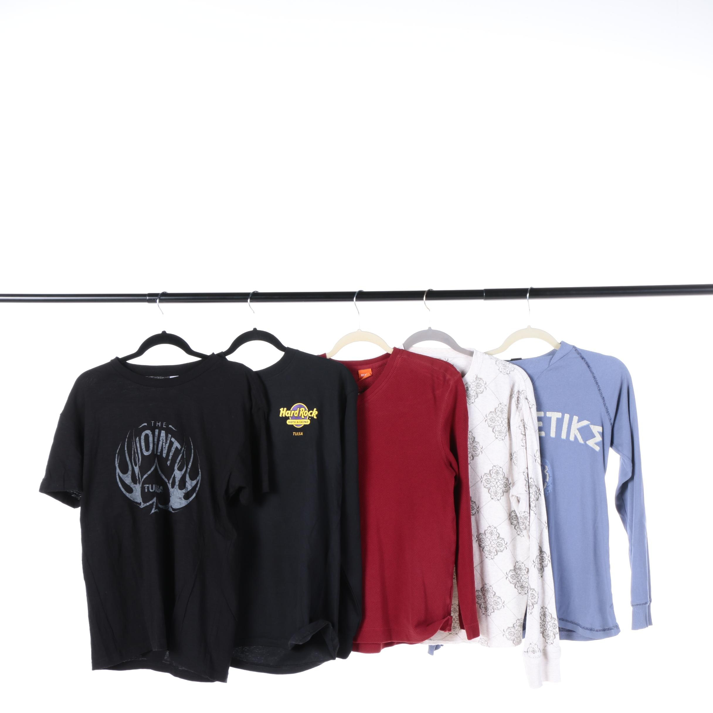 Men's Short and Long Sleeve T-Shirts Including Diesel and Marc Ecko