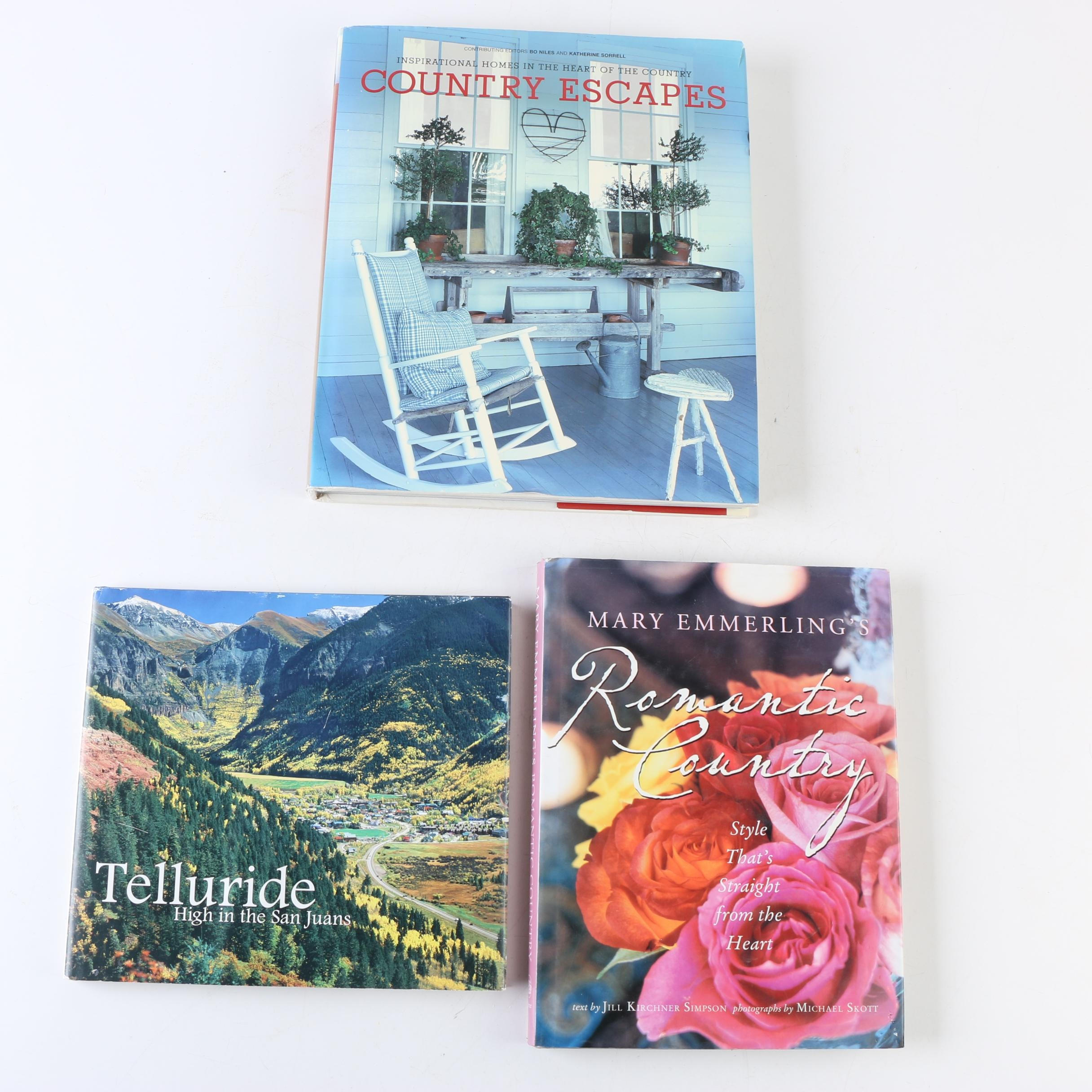 Telluride, Colorado, and Country Style Books