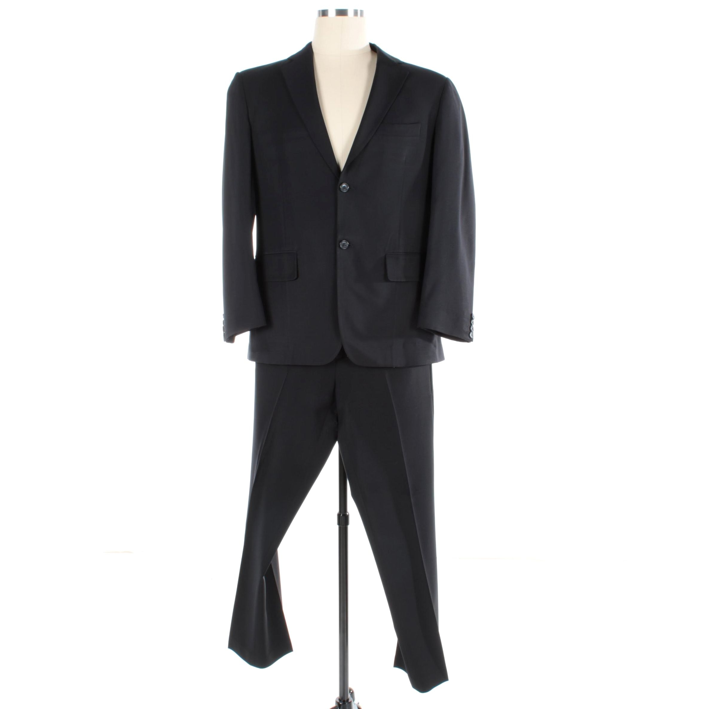 Men's Calvin Klein Wool Blend Suit