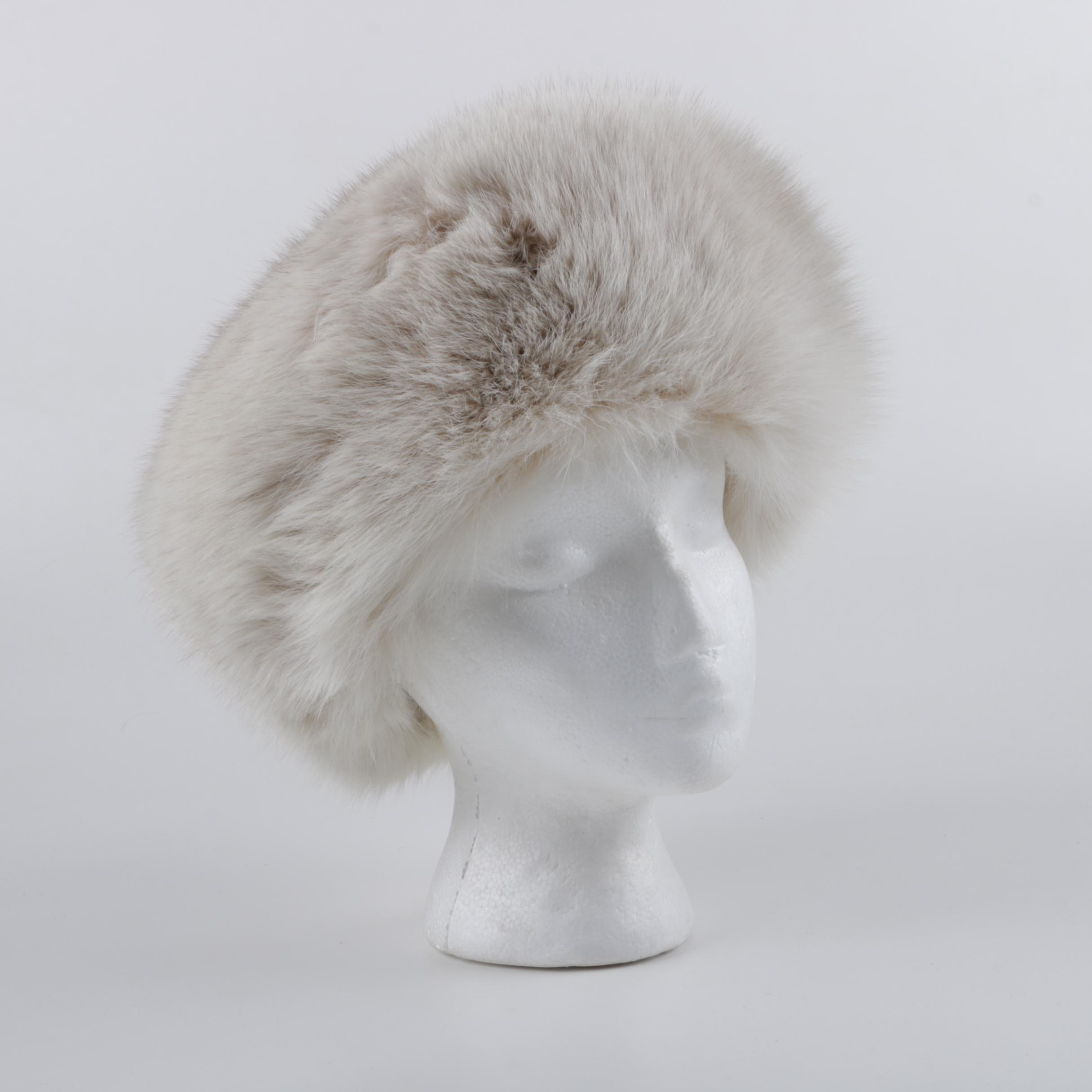 Vintage Morton Gaventa Fox Fur Hat