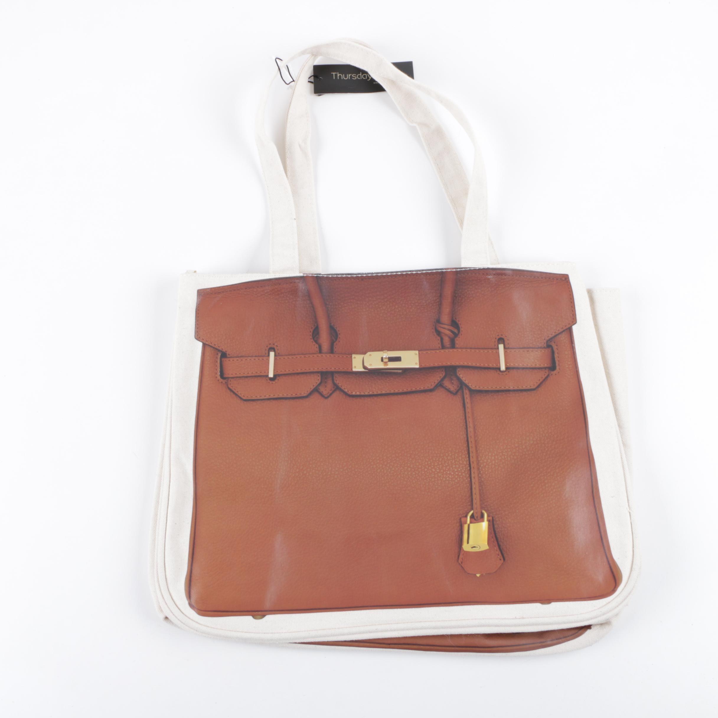 Thursday Friday Trompe l'Oeil Together Bag