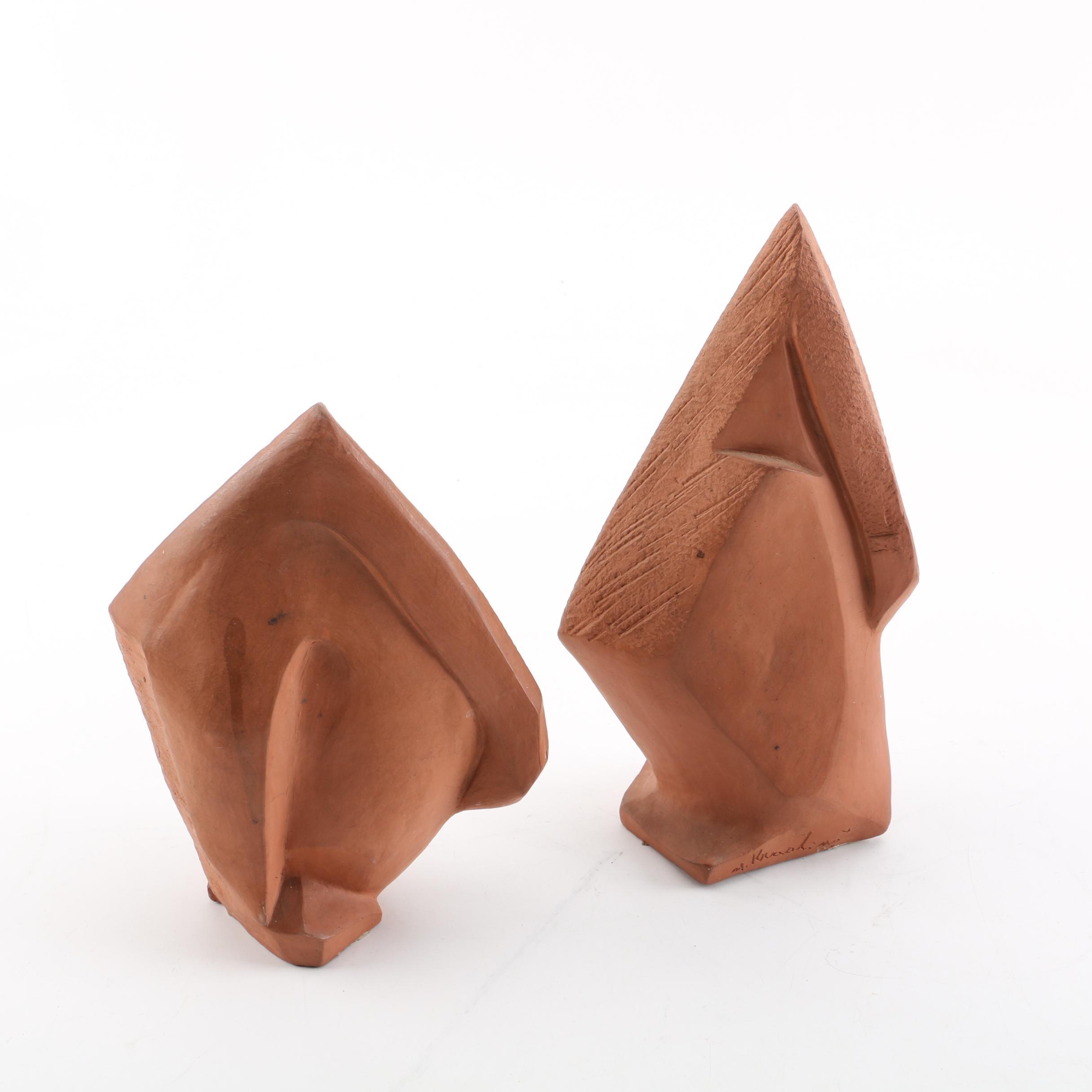 Milda Krastins Ceramic Maquettes