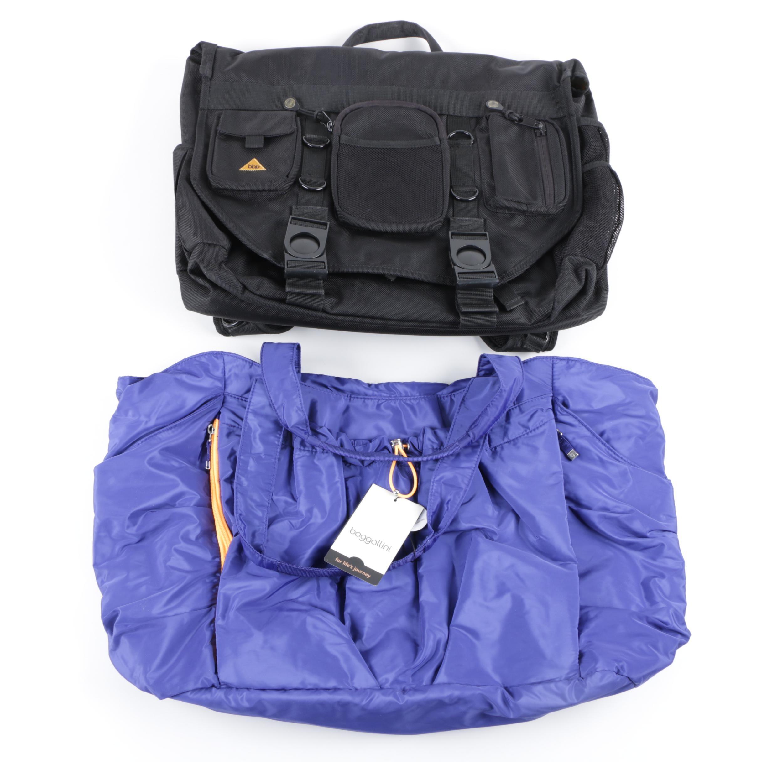 BBP Hamptons Hybrid Bag and BG by Baggallini Yoga Tote