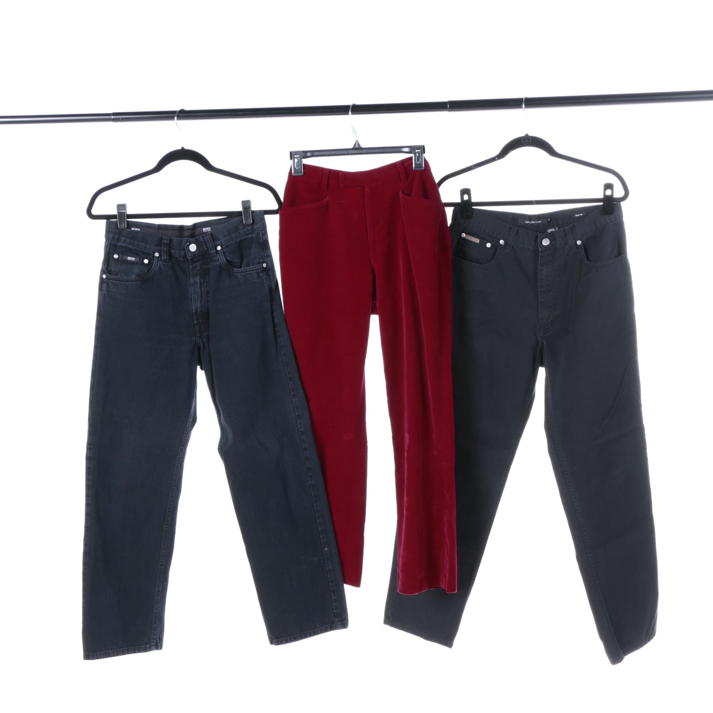 Men's Pants Including Calvin Klein Jeans and BOSS Hugo Boss