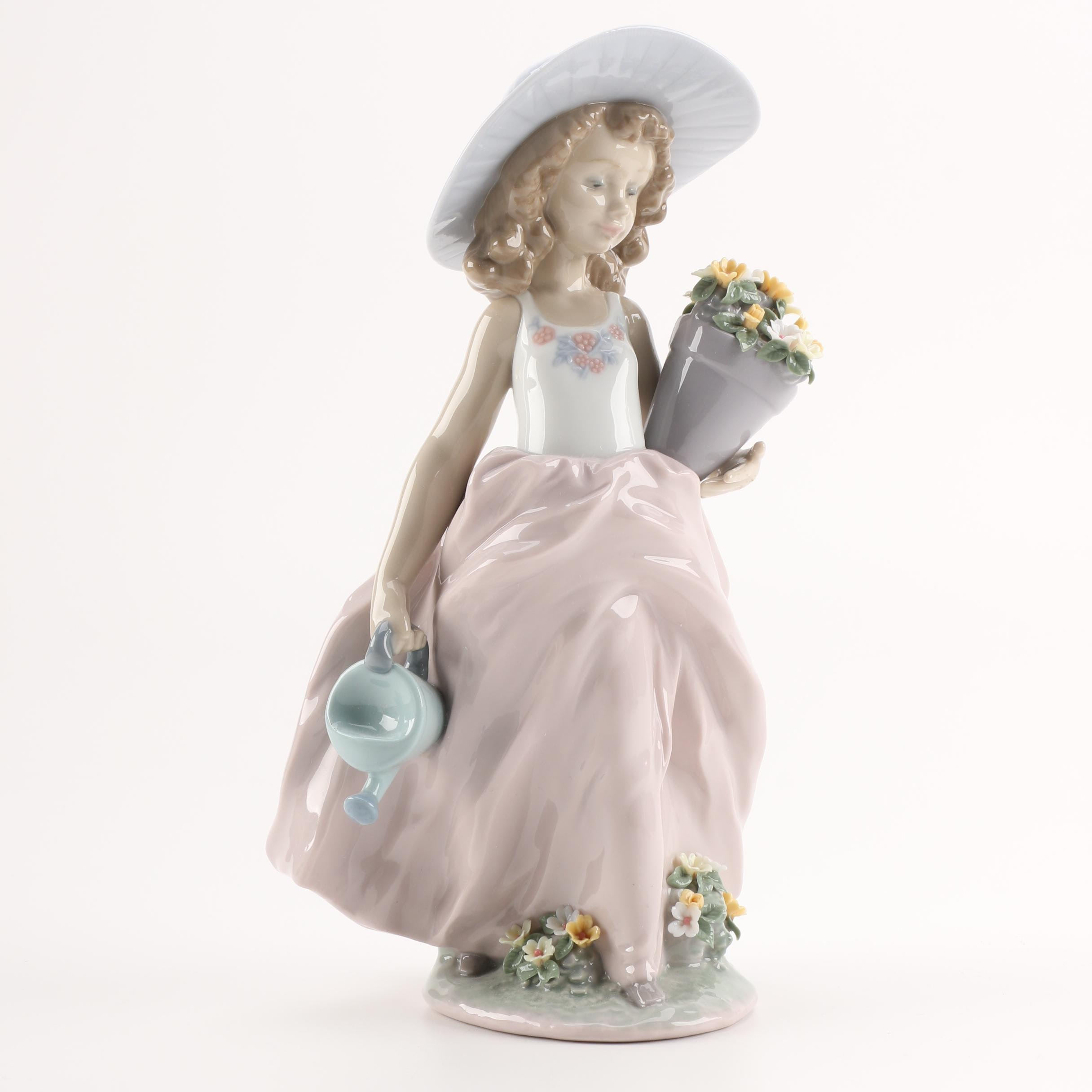 """Lladró Collectors Society """"A Wish Come True"""" #7676 Figurine"""