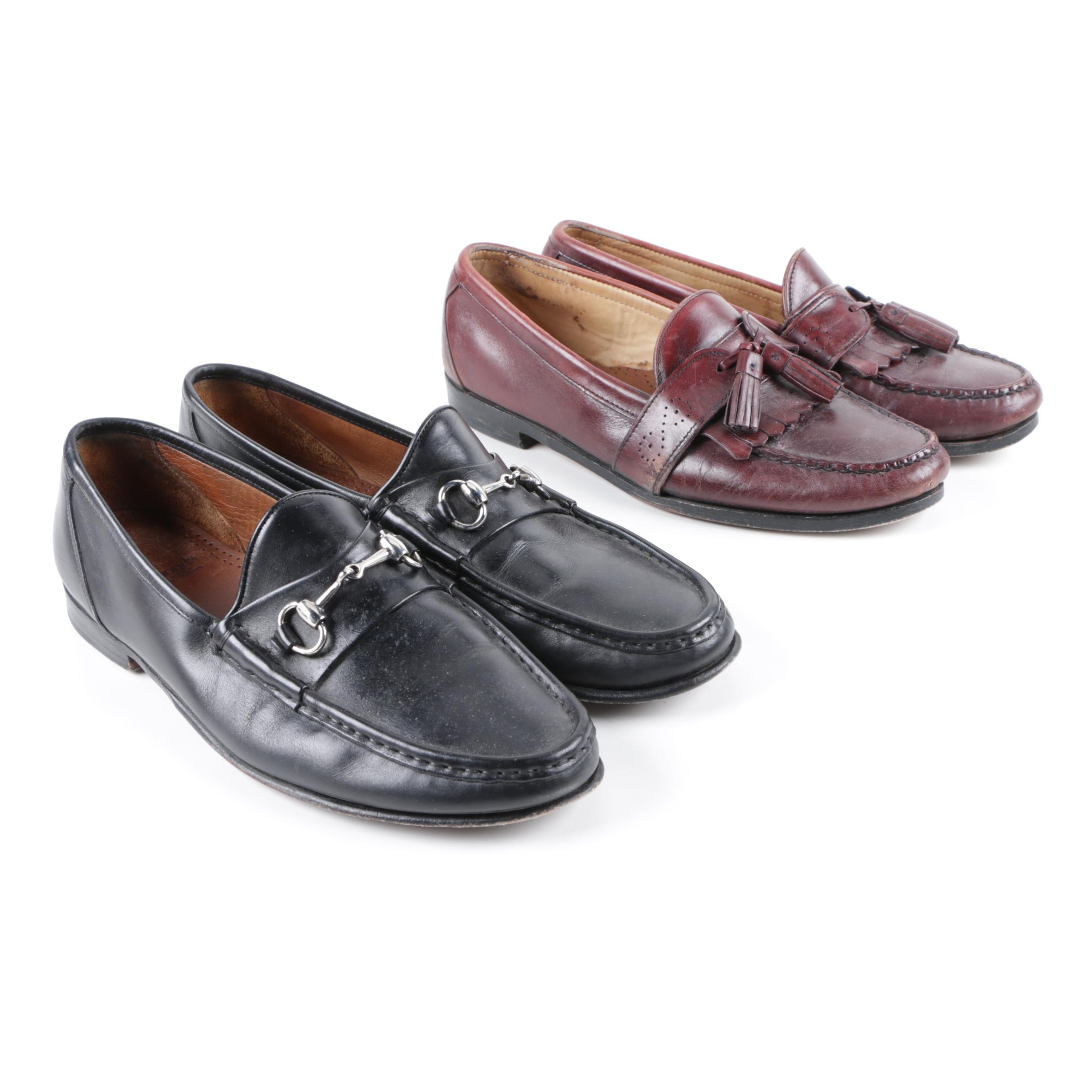 Men's Allen Edmonds Leather Loafers
