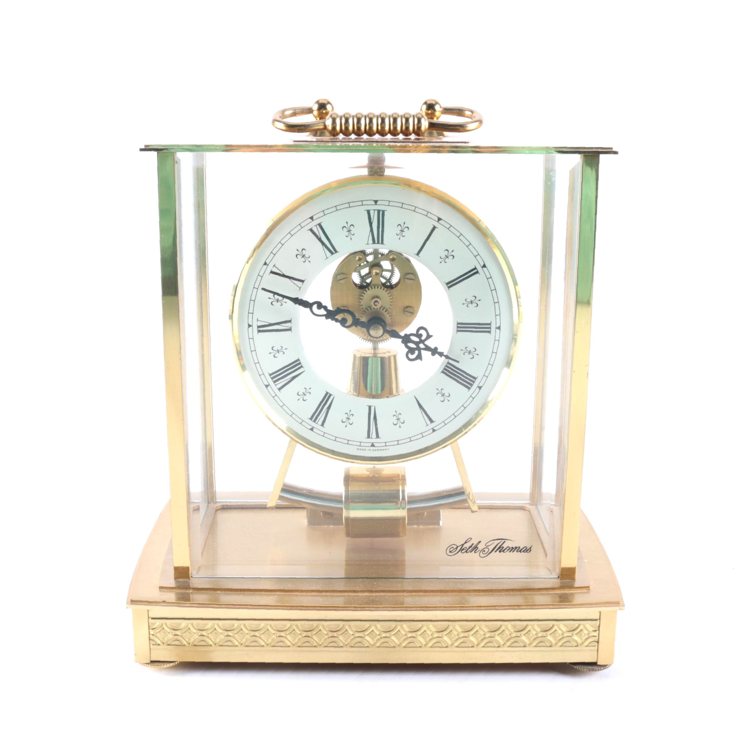 "Seth Thomas ""Acquisition"" Mantel Clock"