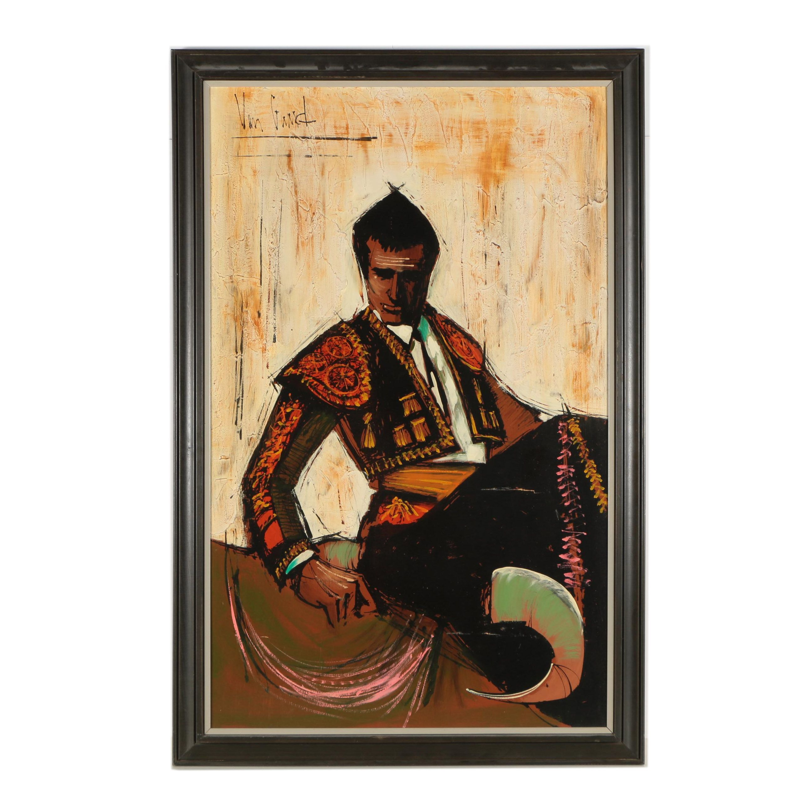 Van Gaard Oil Painting of a Matador
