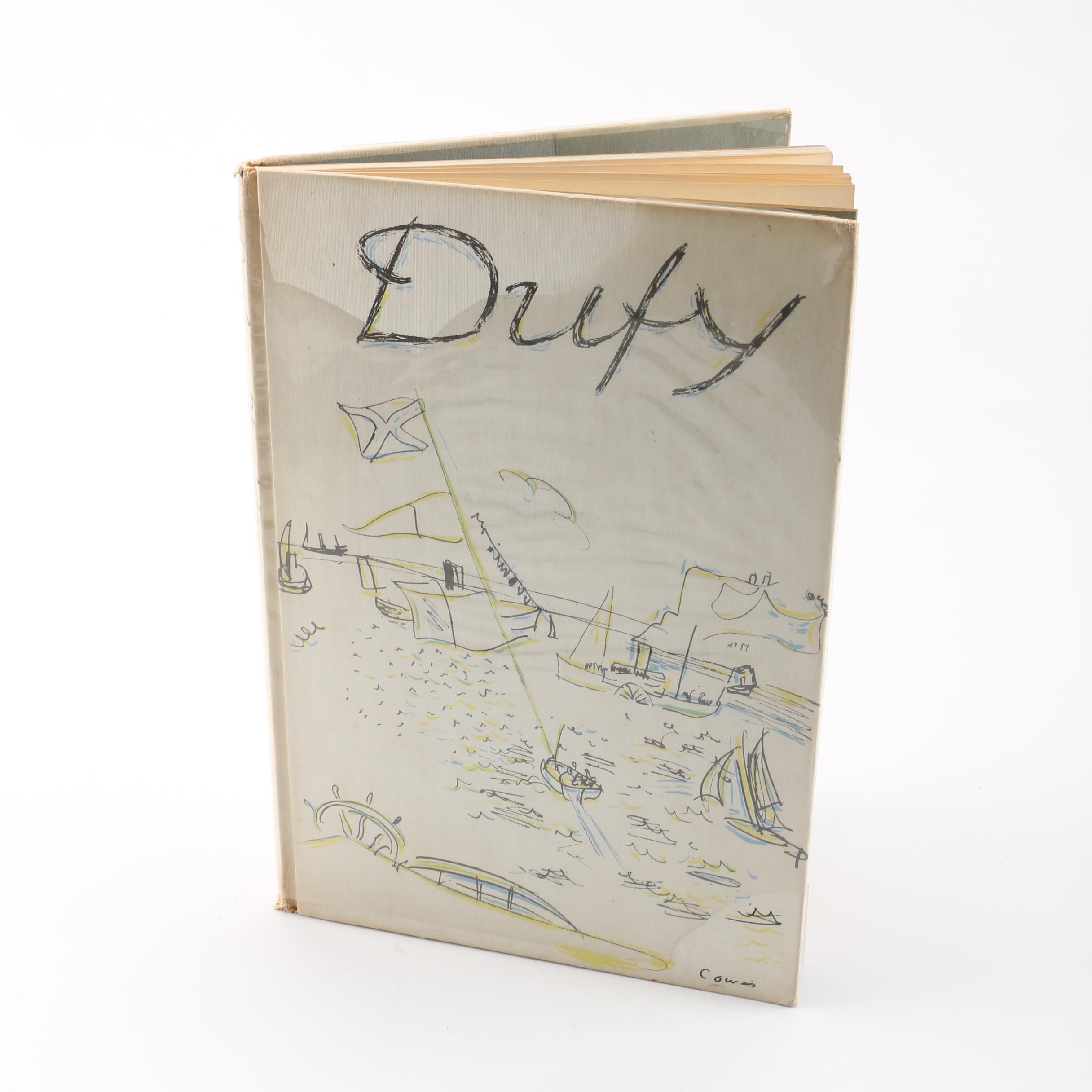 """1958 """"Raoul Duffy"""" by Gemalde und Aquarelle in German Language"""