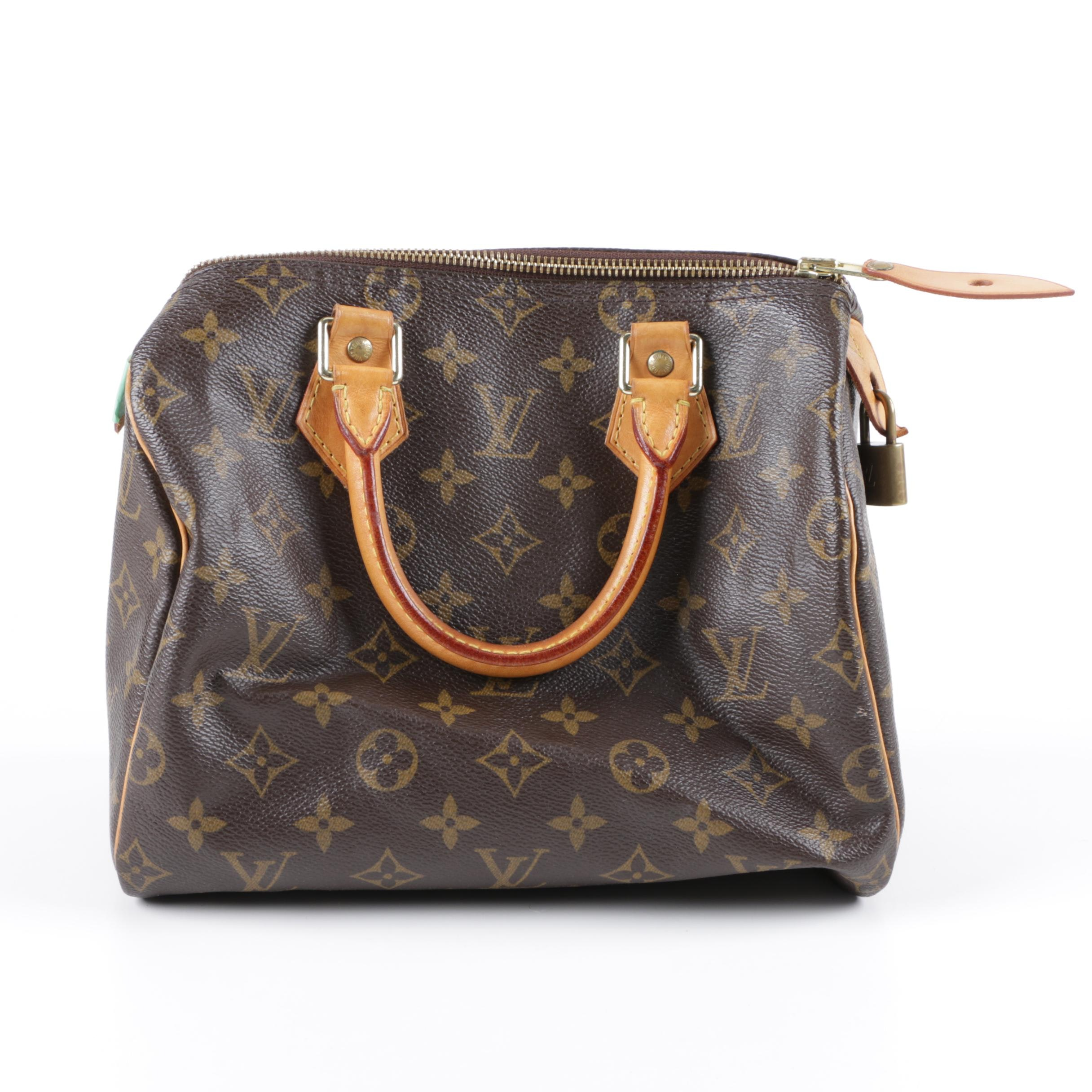 2004 Louis Vuitton Monogram Speedy Bag