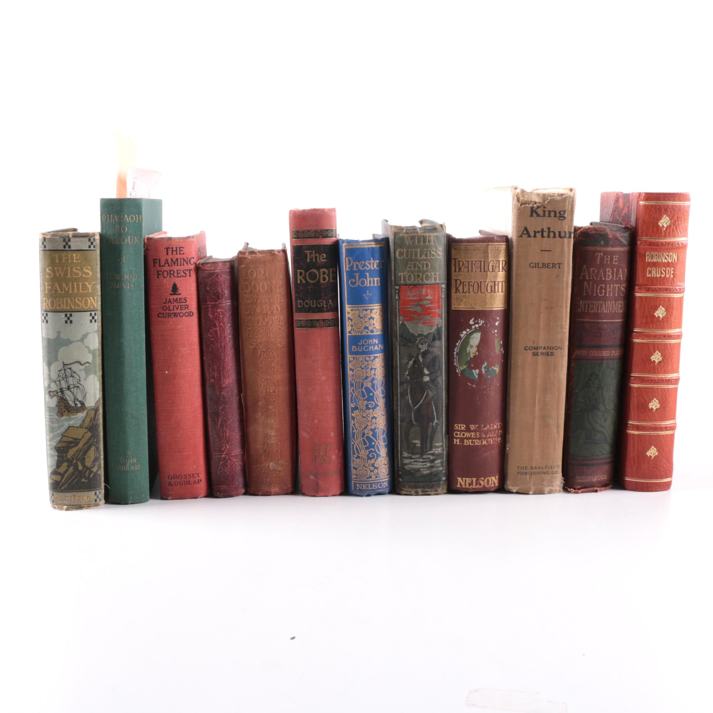 "Antique and Vintage Books Featuring 1823 ""Robinson Crusoe"""