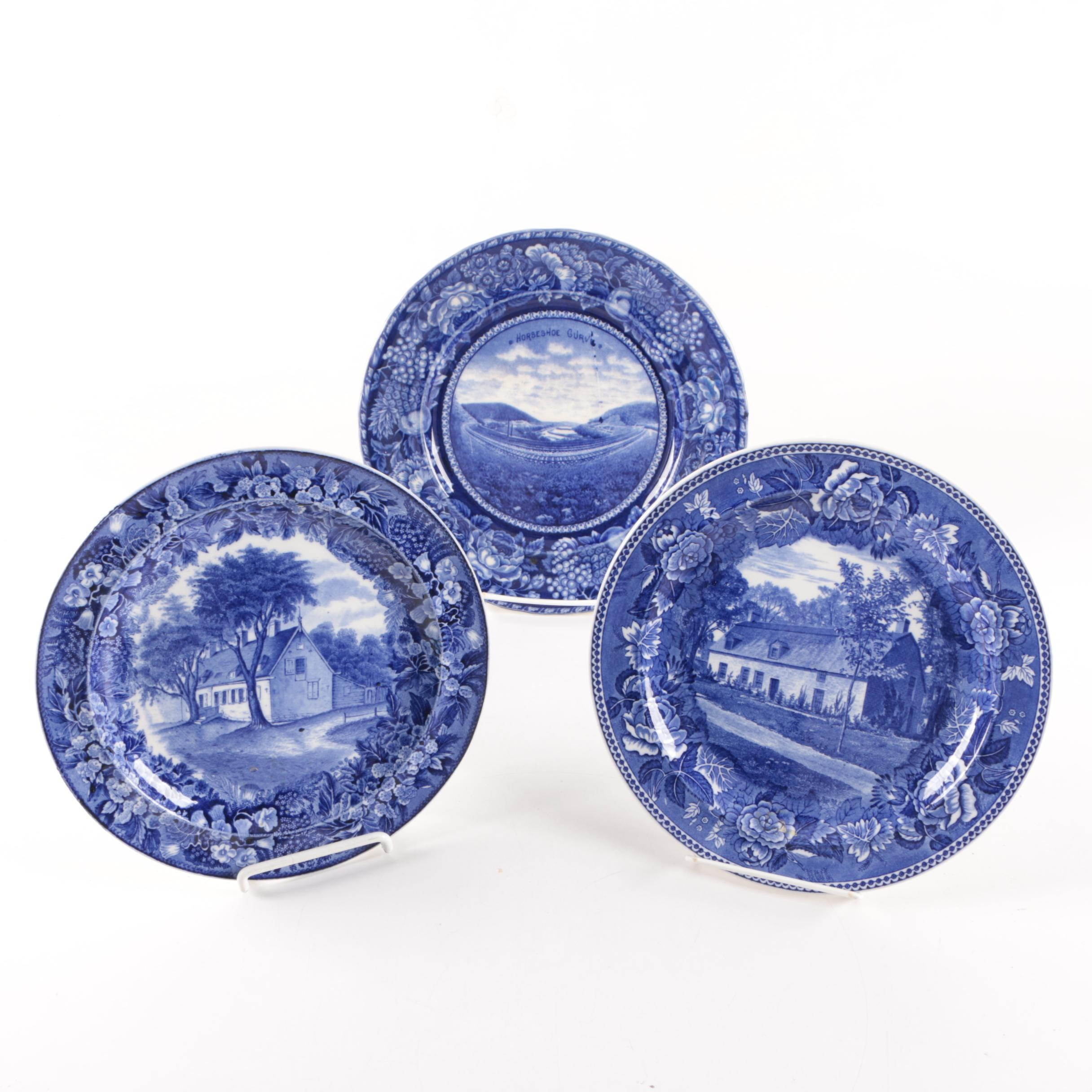 Wedgwood and Staffordshire Plates