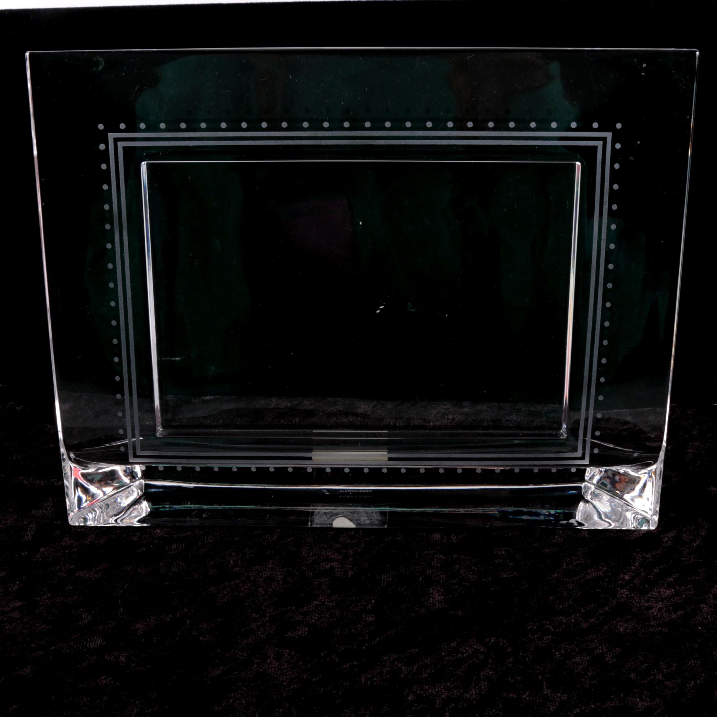 Vera Wang Wedgwood Crystal Picture Frame
