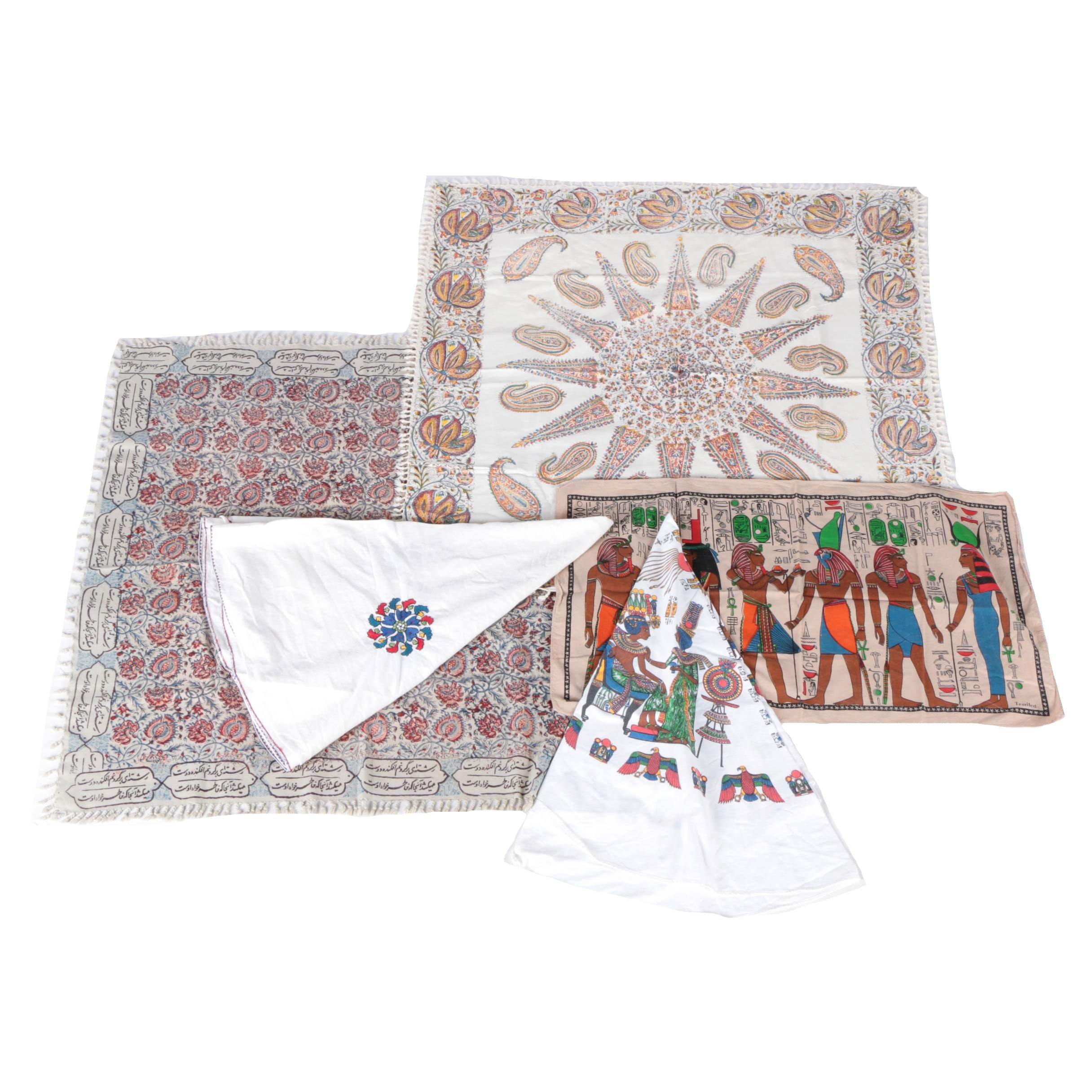 Collection of Six Table Linens