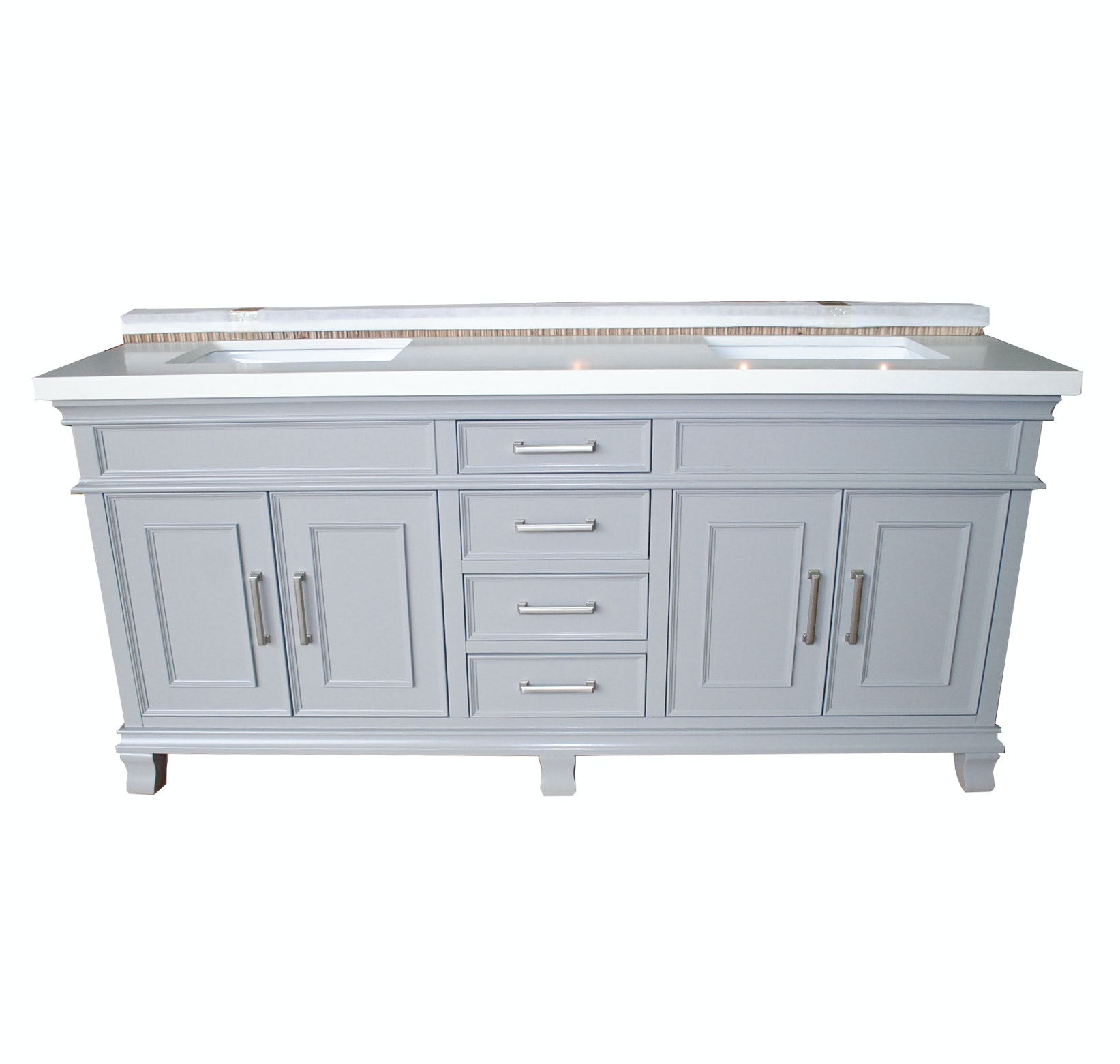 "Mission Hills Charleston 72"" Double Vanity"