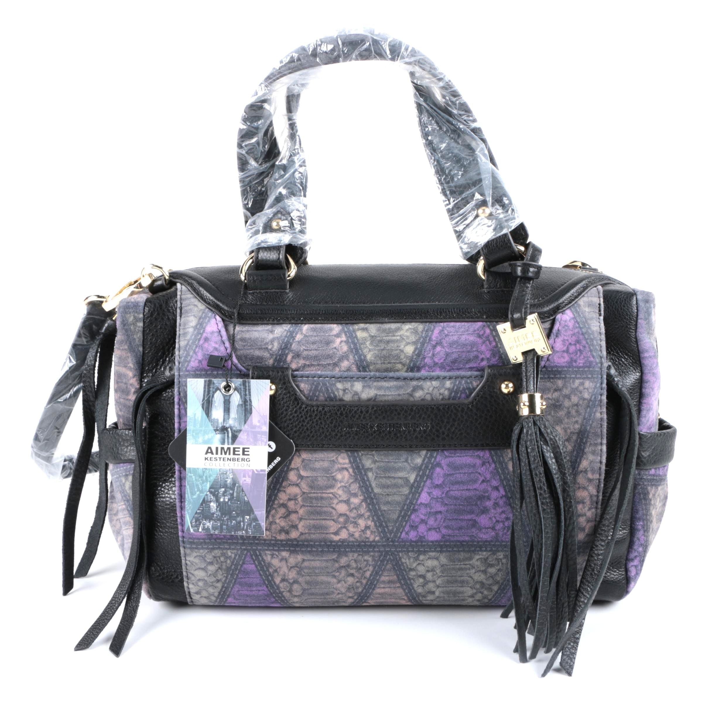 Aimee Kestenberg Printed Leather Handbag