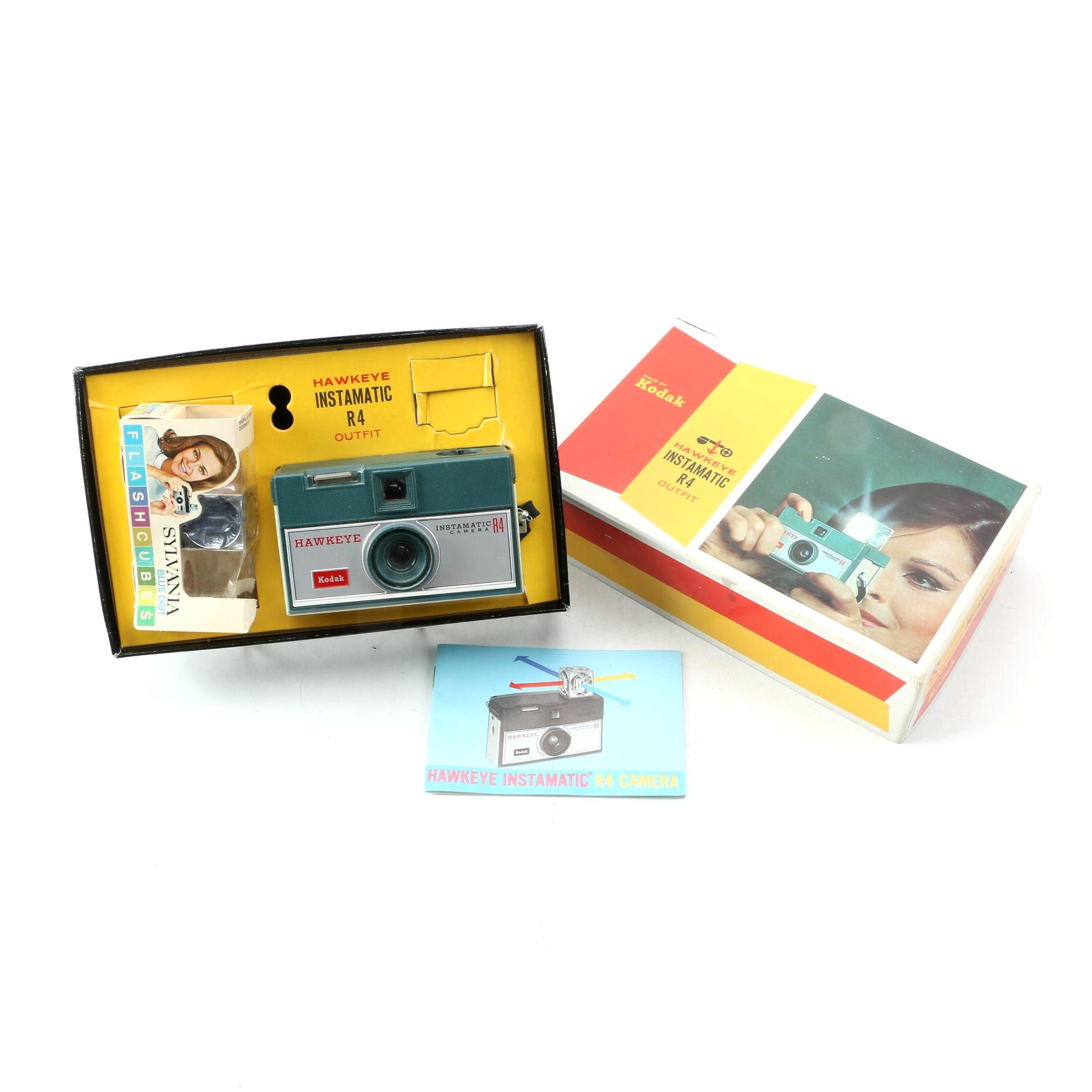 Kodak Hawkeye Instamatic R4 Camera Outfit