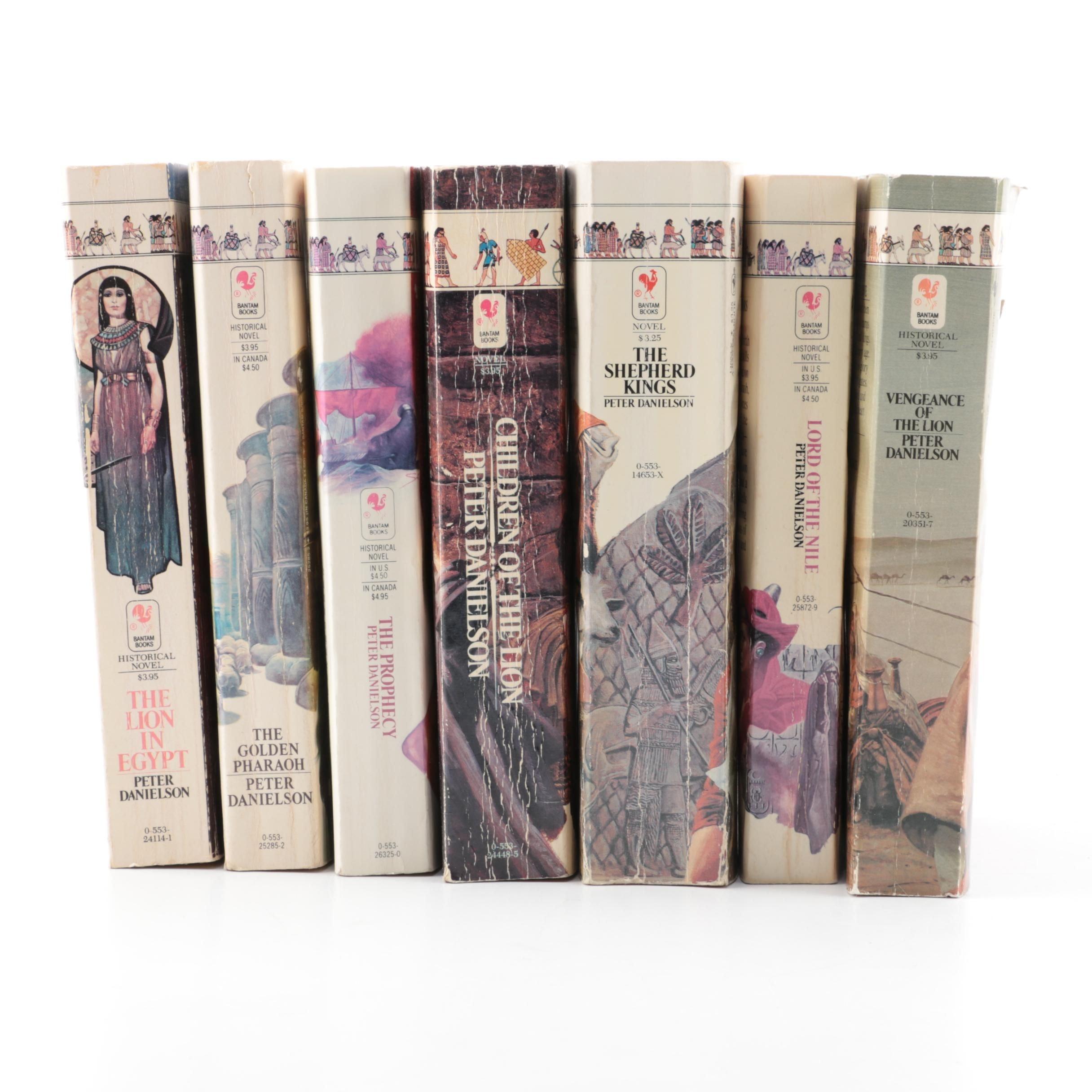 1980s Peter Danielson Historical Novels