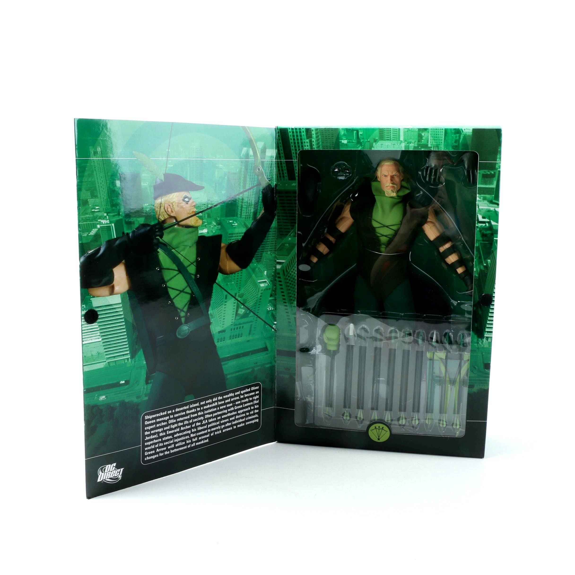 DC Direct 1:6 Scale Deluxe Collector Green Arrow Figure