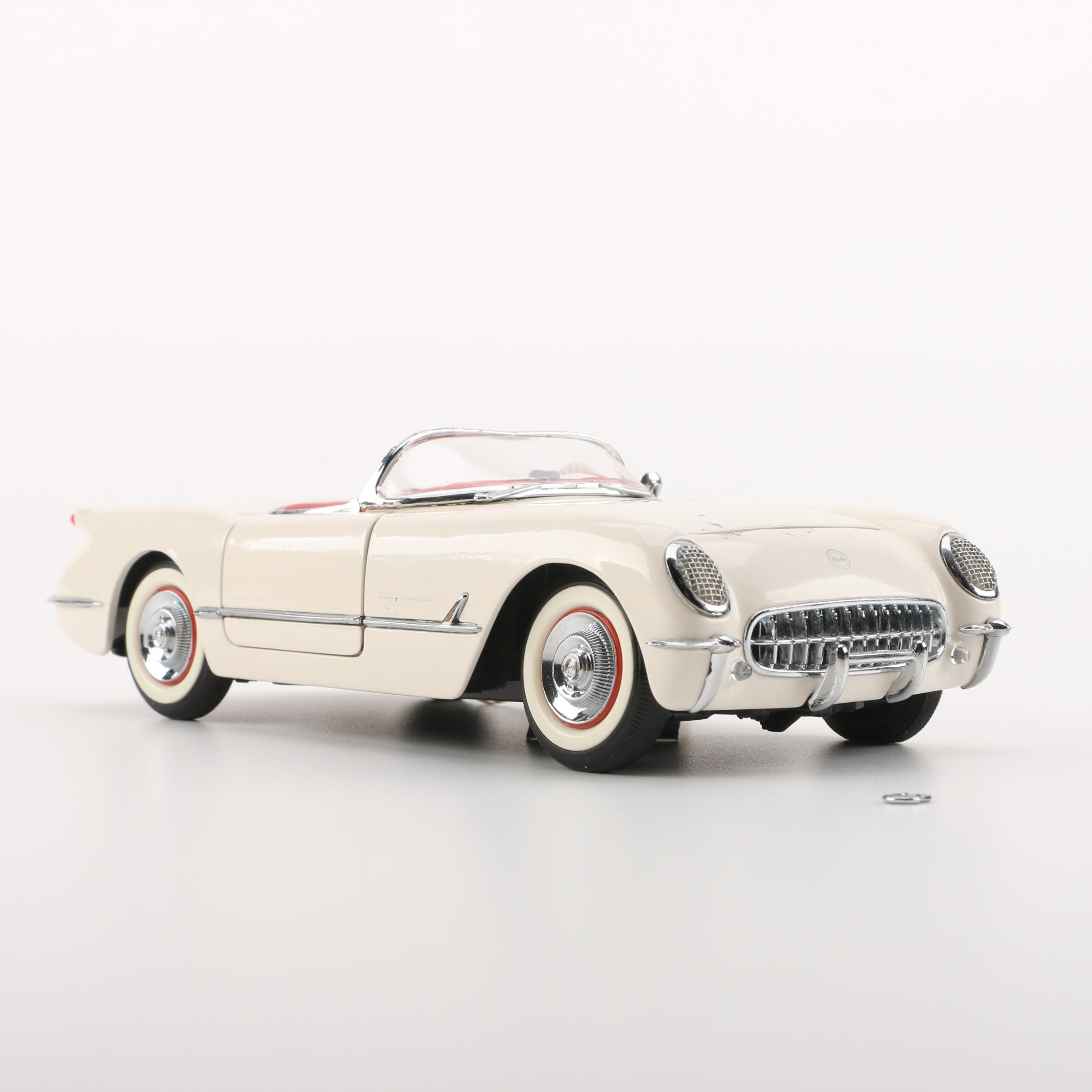 1953 Corvette Roadster Die-Cast Car by Franklin Mint Precision Models